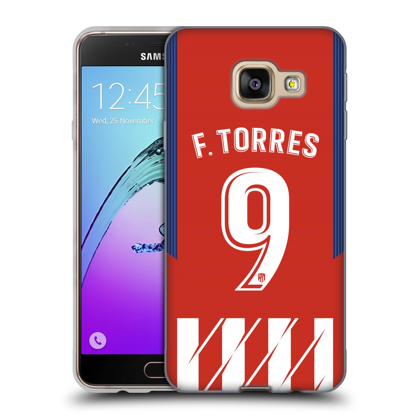 HEAD CASE silikonový obal na mobil Samsung Galaxy A3 2016 (A310) Fotbalový klub Atlético Madrid dres Fernando Torres