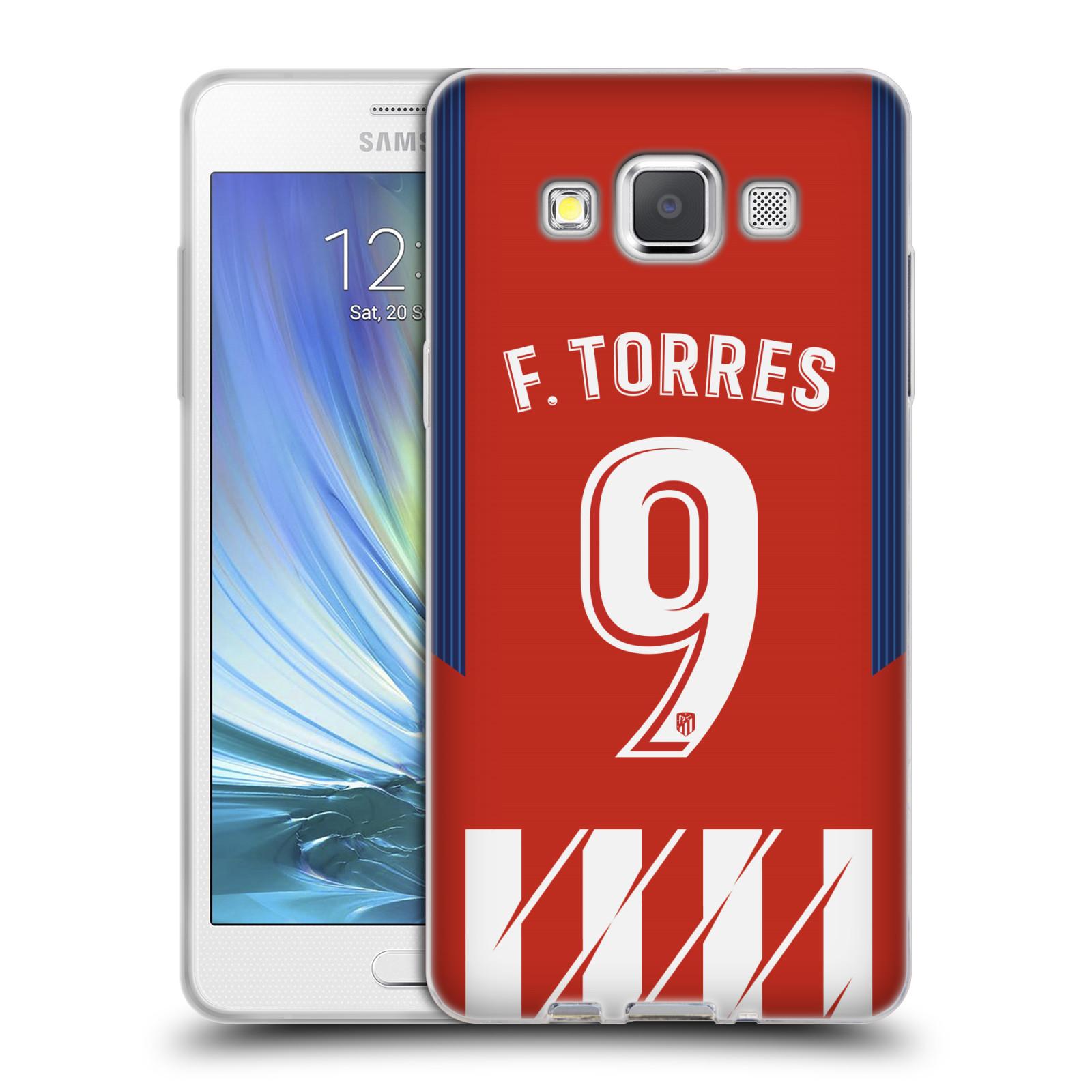 HEAD CASE silikonový obal na mobil Samsung Galaxy A5 (A500) Fotbalový klub Atlético Madrid dres Fernando Torres