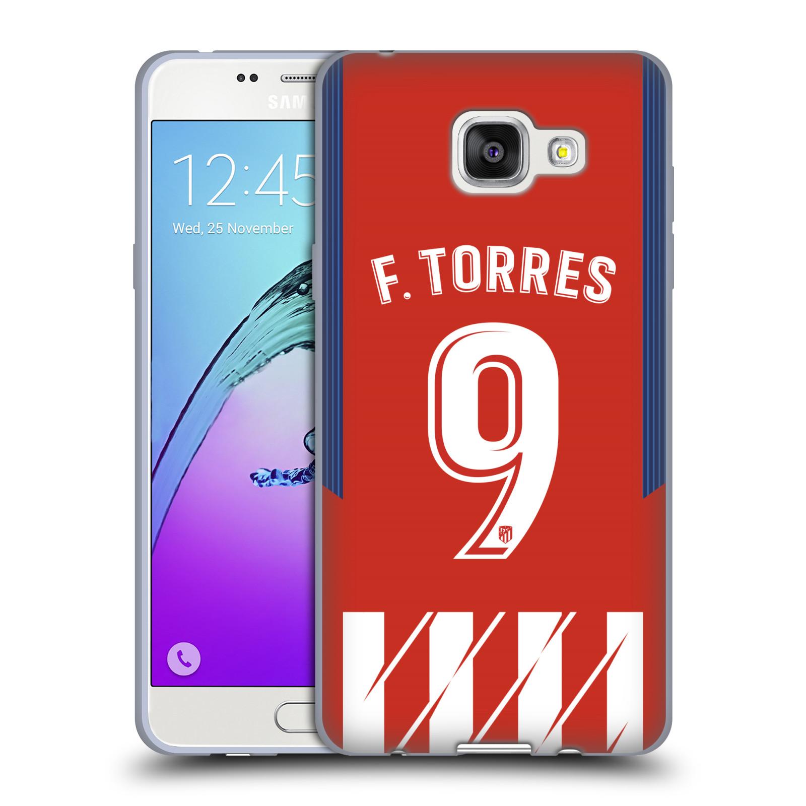 HEAD CASE silikonový obal na mobil Samsung Galaxy A5 2016 (A510) Fotbalový klub Atlético Madrid dres Fernando Torres