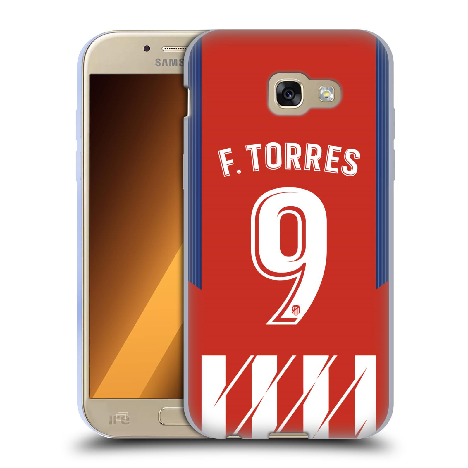 HEAD CASE silikonový obal na mobil Samsung Galaxy A5 2017 (A520) Fotbalový klub Atlético Madrid dres Fernando Torres