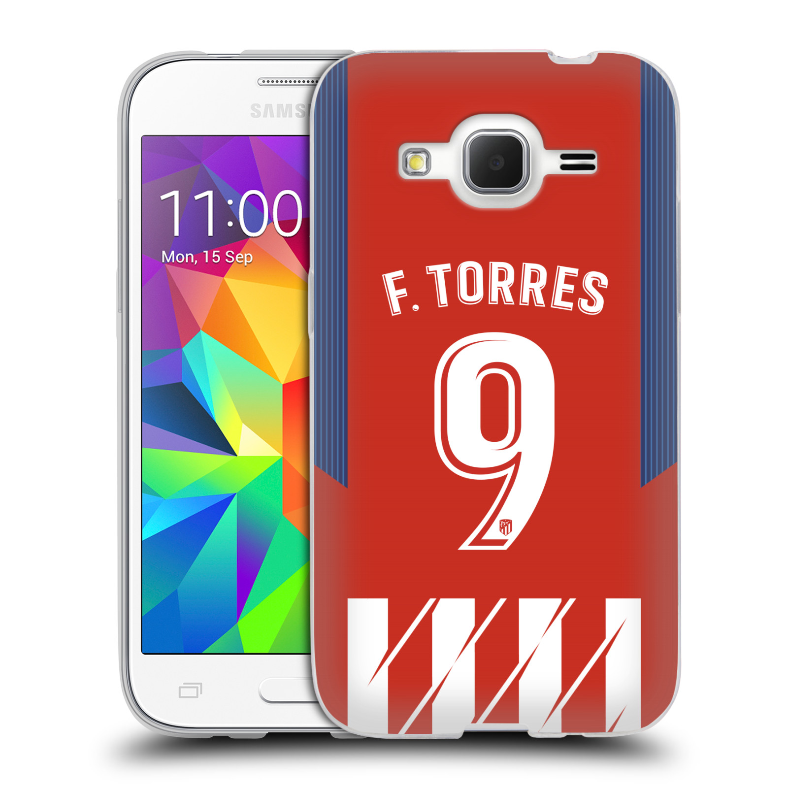 HEAD CASE silikonový obal na mobil Samsung Galaxy Core Prime (G360) Fotbalový klub Atlético Madrid dres Fernando Torres
