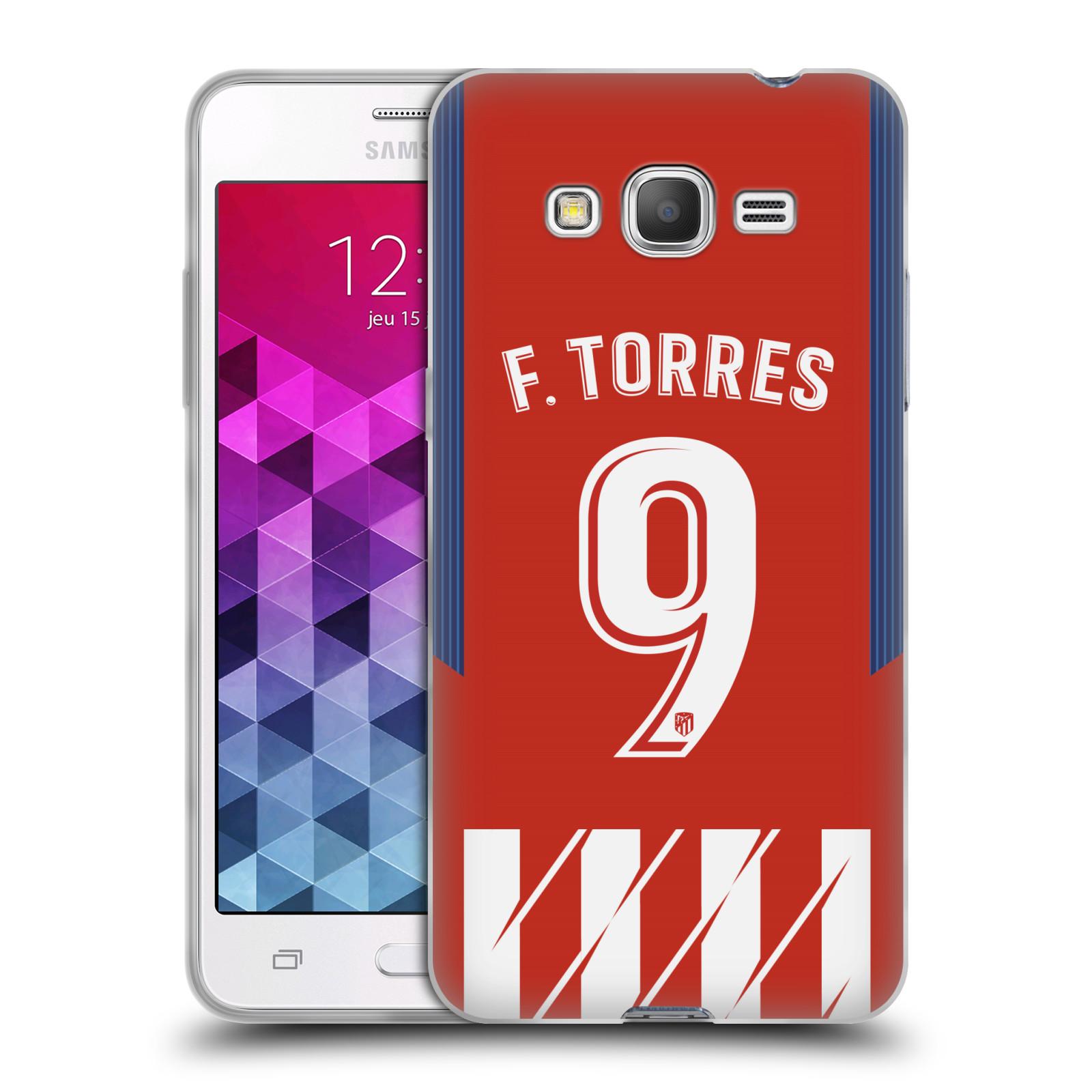 HEAD CASE silikonový obal na mobil Samsung Galaxy Grand Prime Fotbalový klub Atlético Madrid dres Fernando Torres