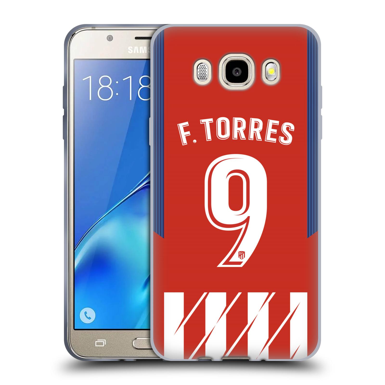 HEAD CASE silikonový obal na mobil Samsung Galaxy J5 2016 (J510) Fotbalový klub Atlético Madrid dres Fernando Torres