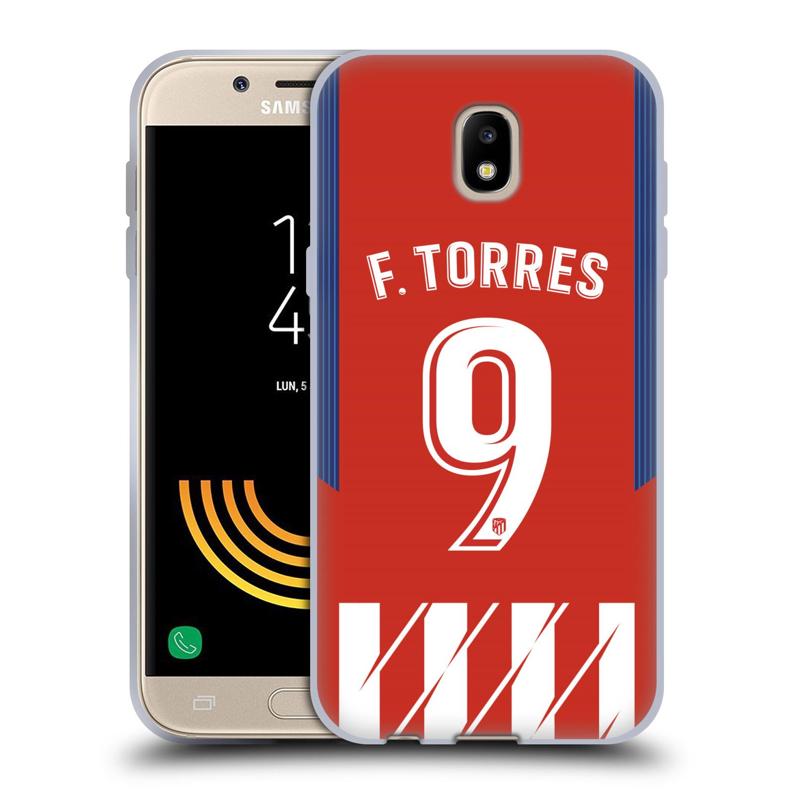 HEAD CASE silikonový obal na mobil Samsung Galaxy J5 2017 Fotbalový klub Atlético Madrid dres Fernando Torres