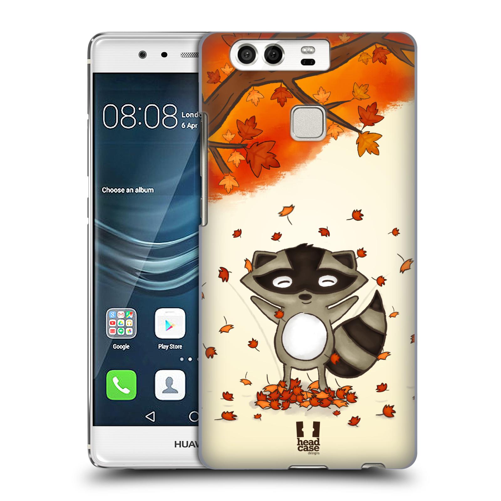 HEAD CASE plastový obal na mobil Huawei P9 / P9 DUAL SIM vzor podzimní zvířátka mýval