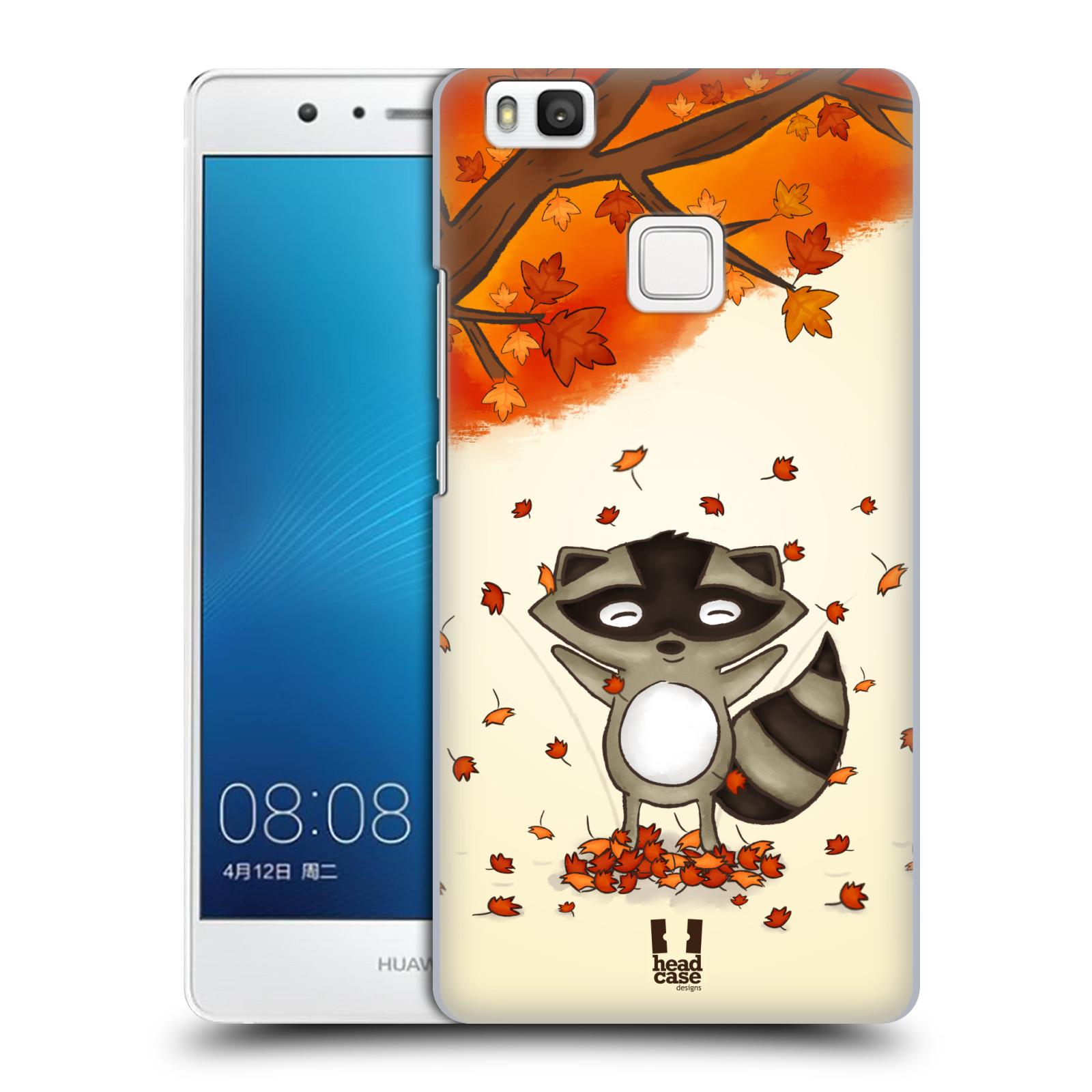 HEAD CASE plastový obal na mobil Huawei P9 LITE / P9 LITE DUAL SIM vzor podzimní zvířátka mýval