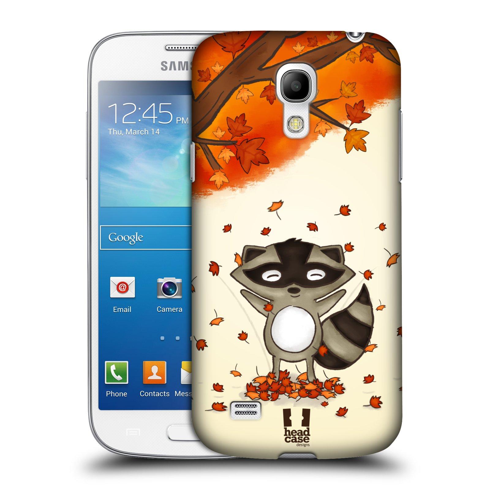 dafa35a7f HEAD CASE plastový obal na mobil SAMSUNG Galaxy S4 MINI / S4 MINI VE  (i9190, i9195i, i9195) vzor podzimní zvířátka mýval