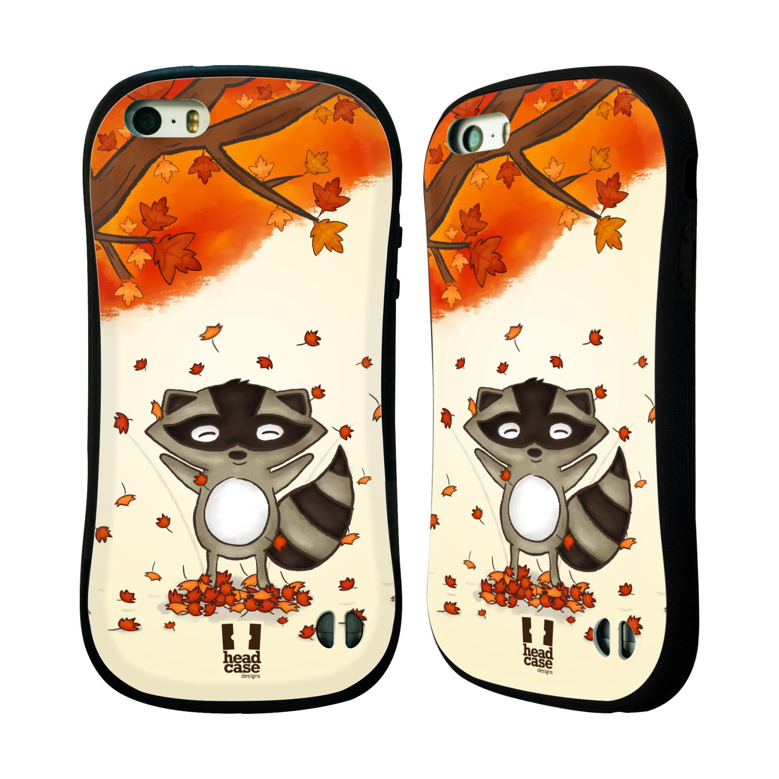 HEAD CASE silikon plast odolný obal na mobil Apple Iphone 5 5S vzor  podzimní empty 39dc84d0775