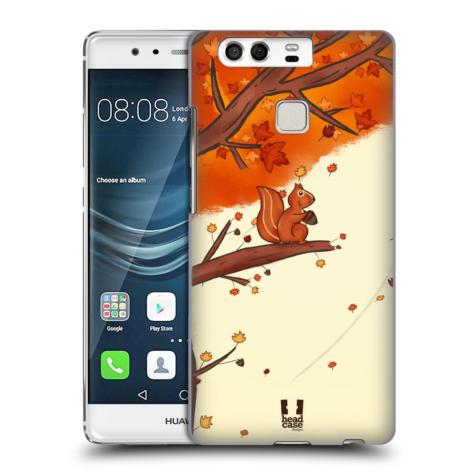 HEAD CASE plastový obal na mobil Huawei P9 / P9 DUAL SIM vzor podzimní zvířátka veverka