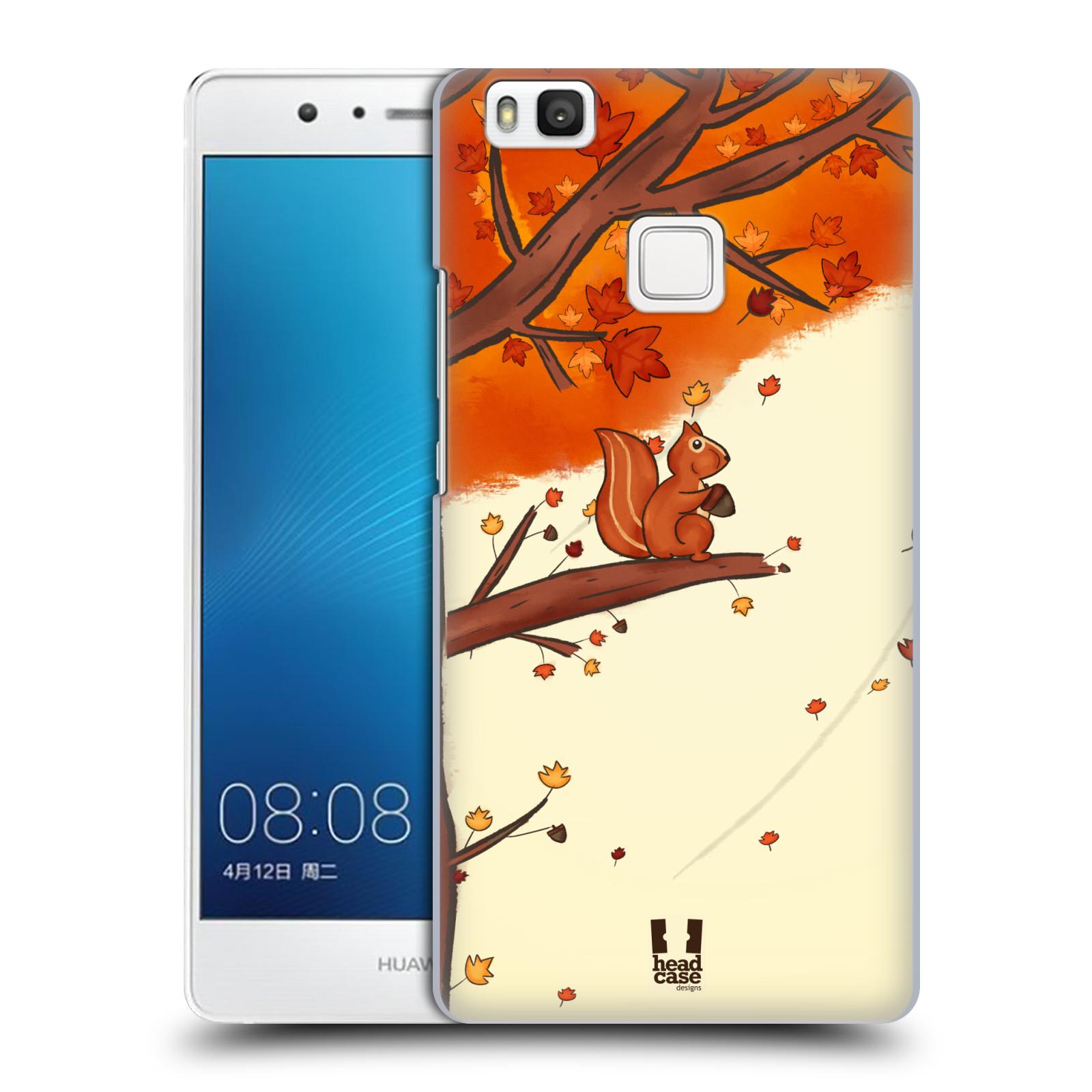 HEAD CASE plastový obal na mobil Huawei P9 LITE / P9 LITE DUAL SIM vzor podzimní zvířátka veverka