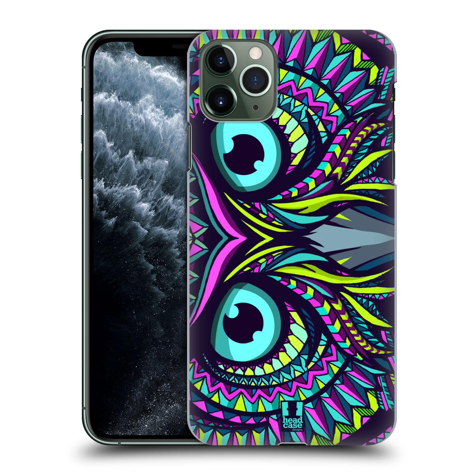Pouzdro na mobil Apple Iphone 11 PRO MAX - HEAD CASE - vzor Aztécký motiv zvíře sova