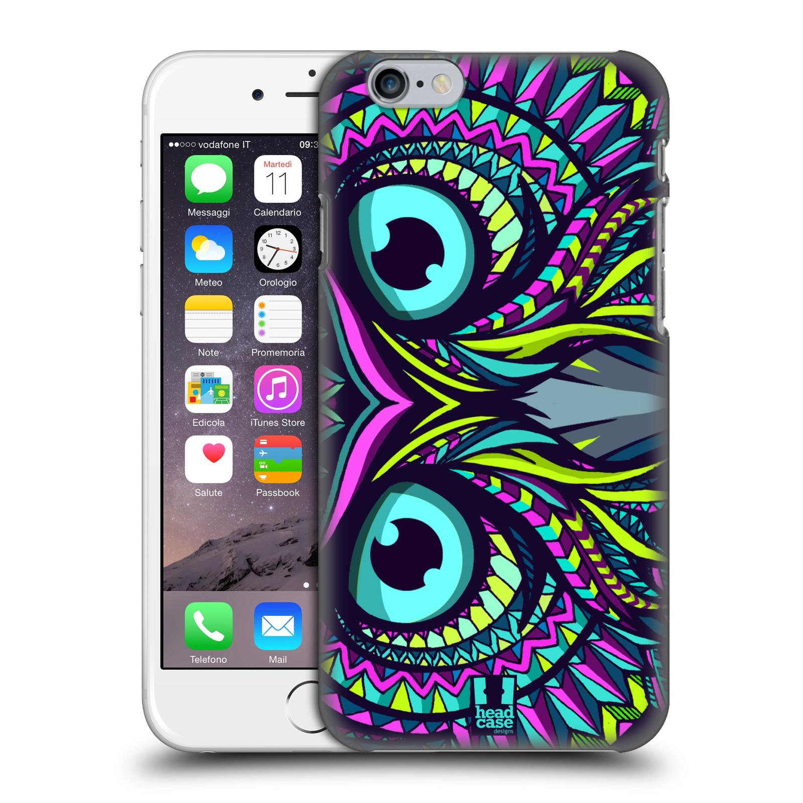 Plastové pouzdro pro mobil Apple Iphone 6/6S vzor Aztécký motiv zvíře sova
