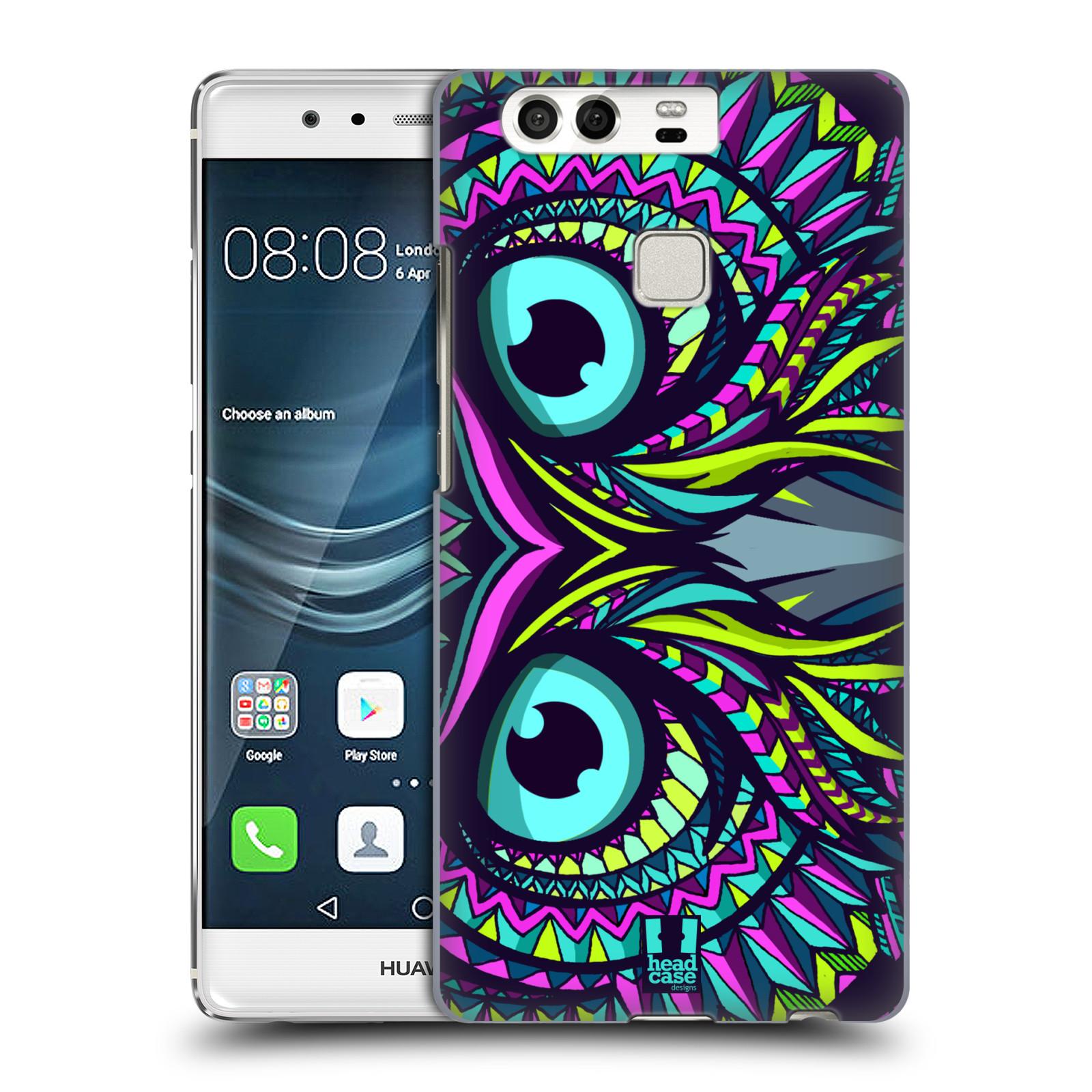 HEAD CASE plastový obal na mobil Huawei P9 / P9 DUAL SIM vzor Aztécký motiv zvíře sova