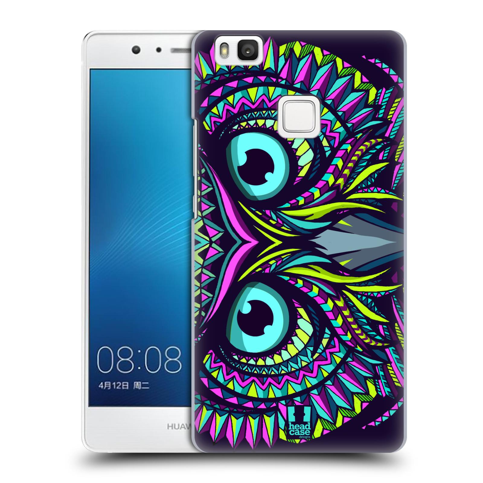 HEAD CASE plastový obal na mobil Huawei P9 LITE / P9 LITE DUAL SIM vzor Aztécký motiv zvíře sova
