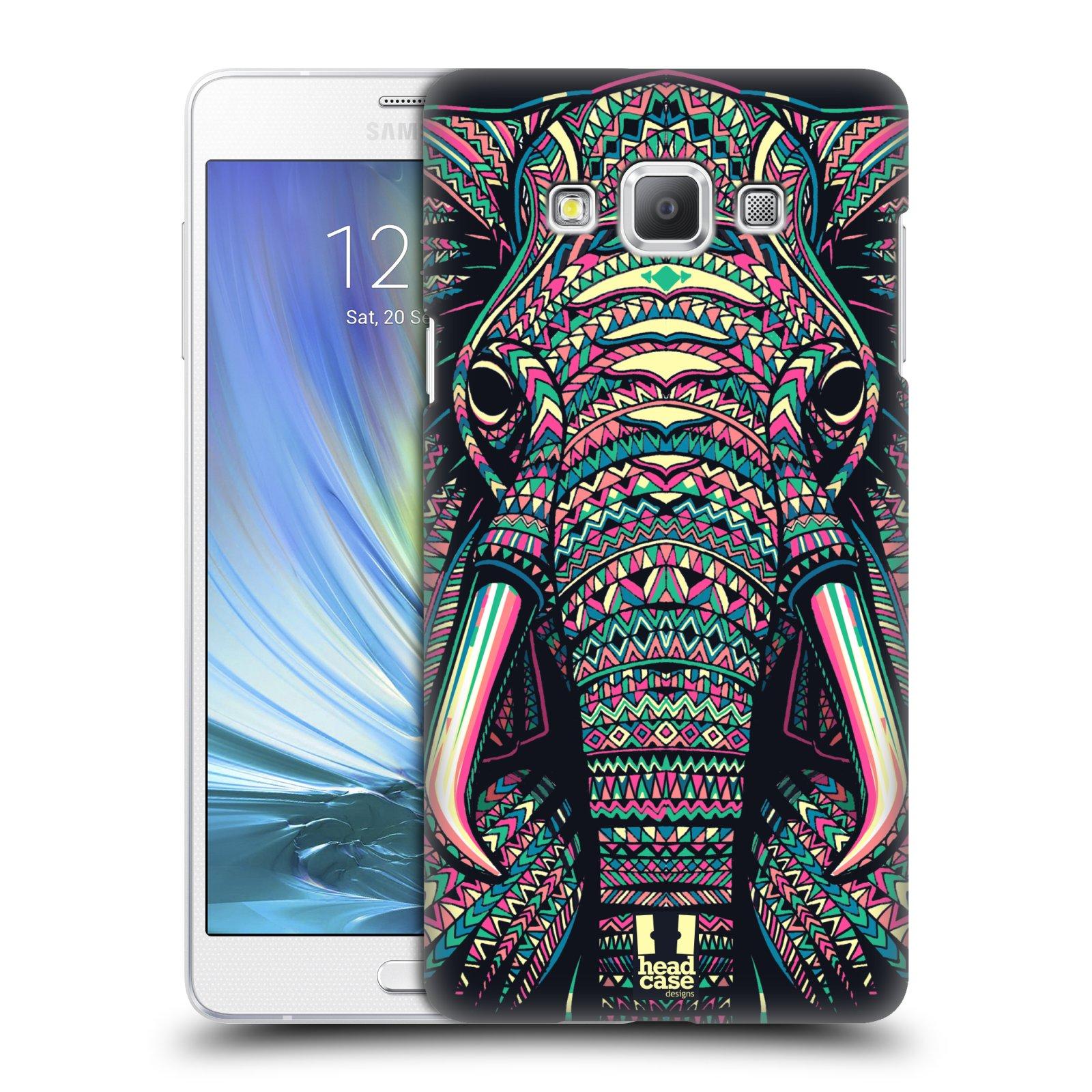 HEAD CASE plastový obal na mobil SAMSUNG GALAXY A7 vzor Aztécký motiv zvíře 2 slon