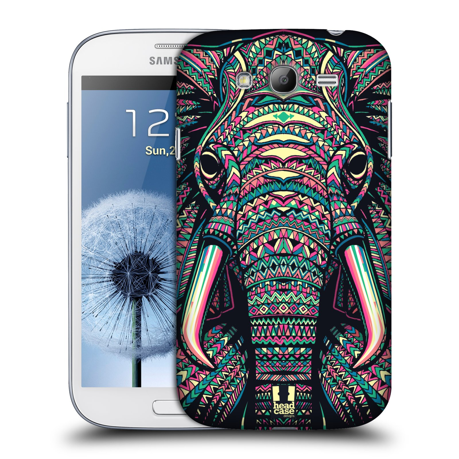 HEAD CASE plastový obal na mobil SAMSUNG GALAXY Grand i9080 vzor Aztécký motiv zvíře 2 slon