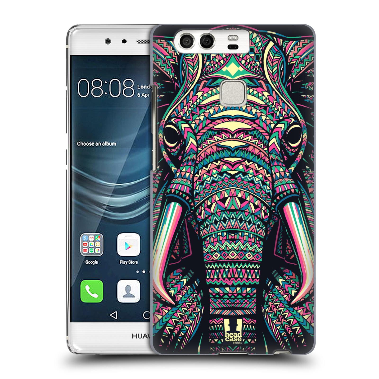 HEAD CASE plastový obal na mobil Huawei P9 / P9 DUAL SIM vzor Aztécký motiv zvíře 2 slon