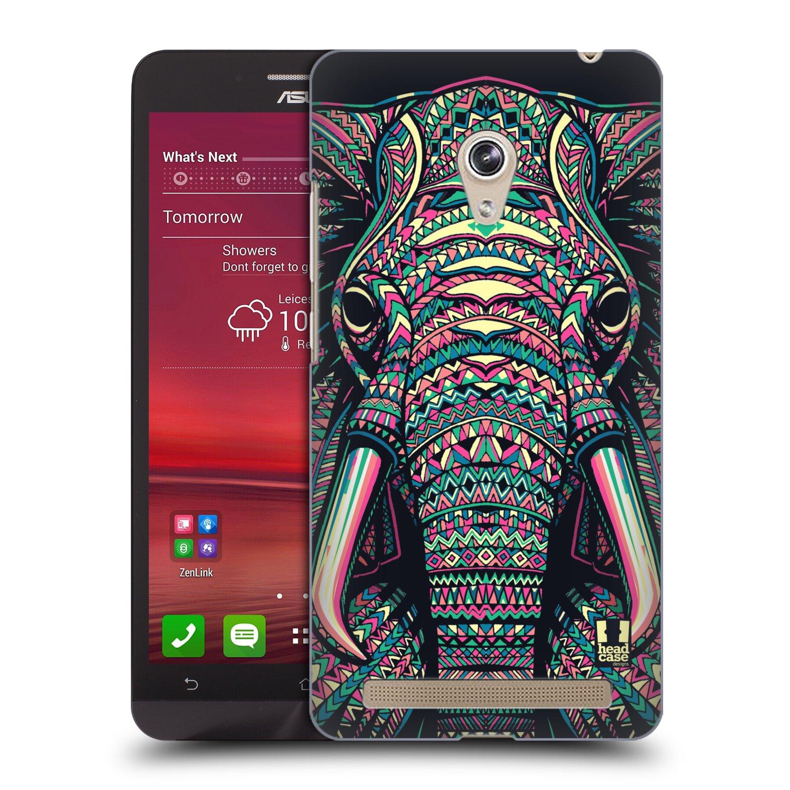 HEAD CASE plastový obal na mobil Asus Zenfone 6 vzor Aztécký motiv zvíře 2 slon