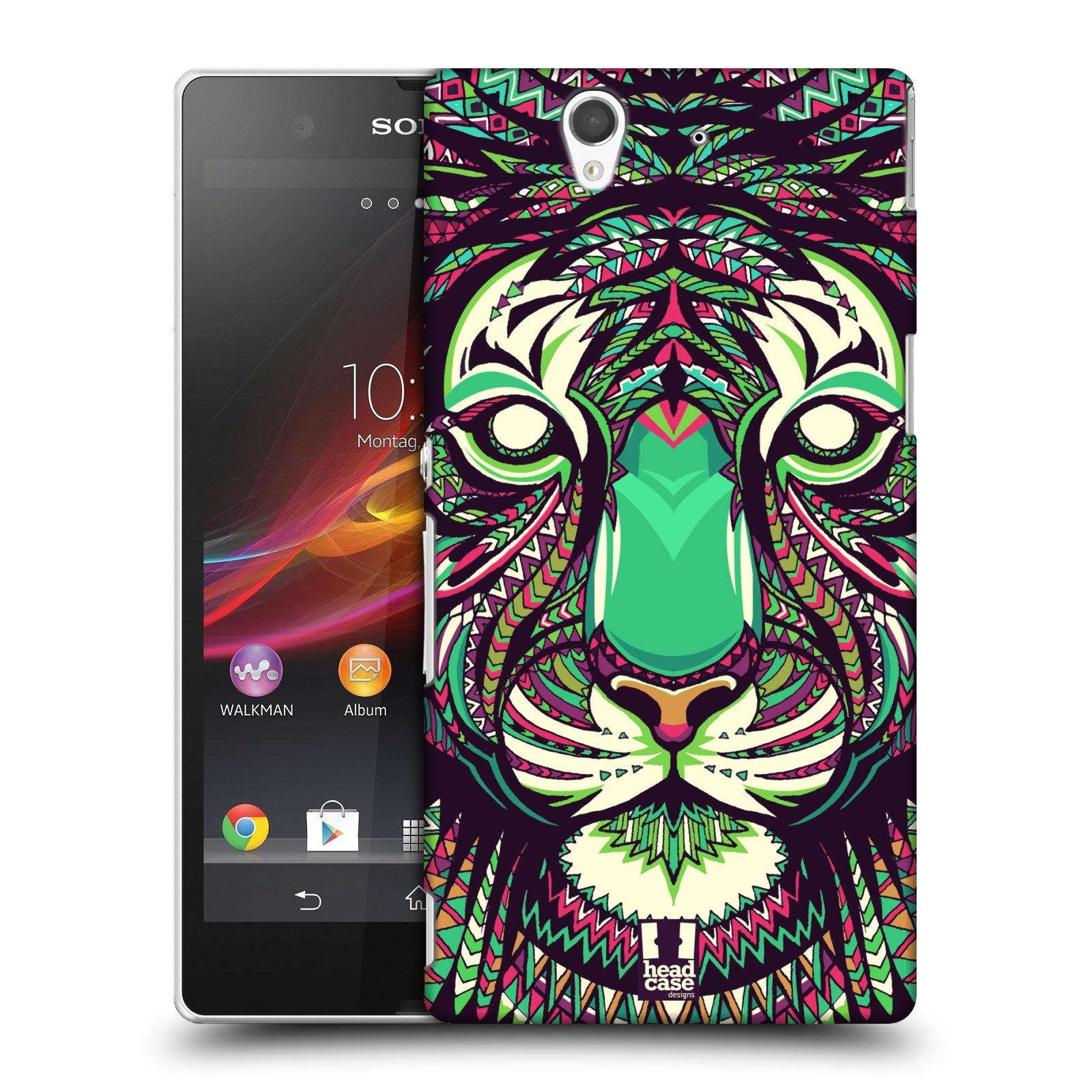 HEAD CASE DESIGNS ANIMAL FACES SERIES 2 CASE COVER FOR SONY XPERIA Z C6603