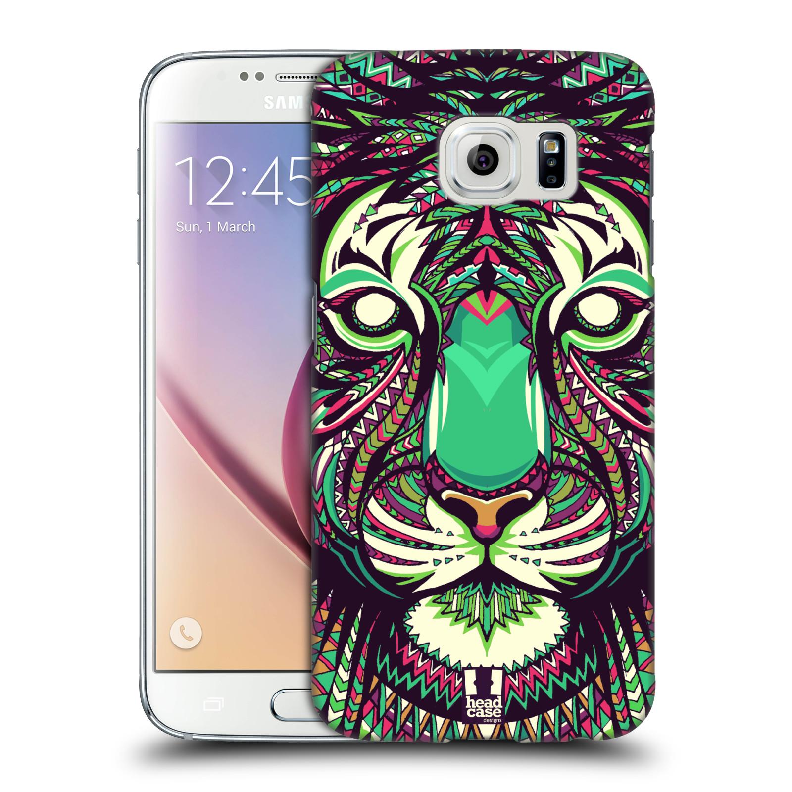 HEAD CASE plastový obal na mobil SAMSUNG Galaxy S6 (G9200, G920F) vzor Aztécký motiv zvíře 2 tygr