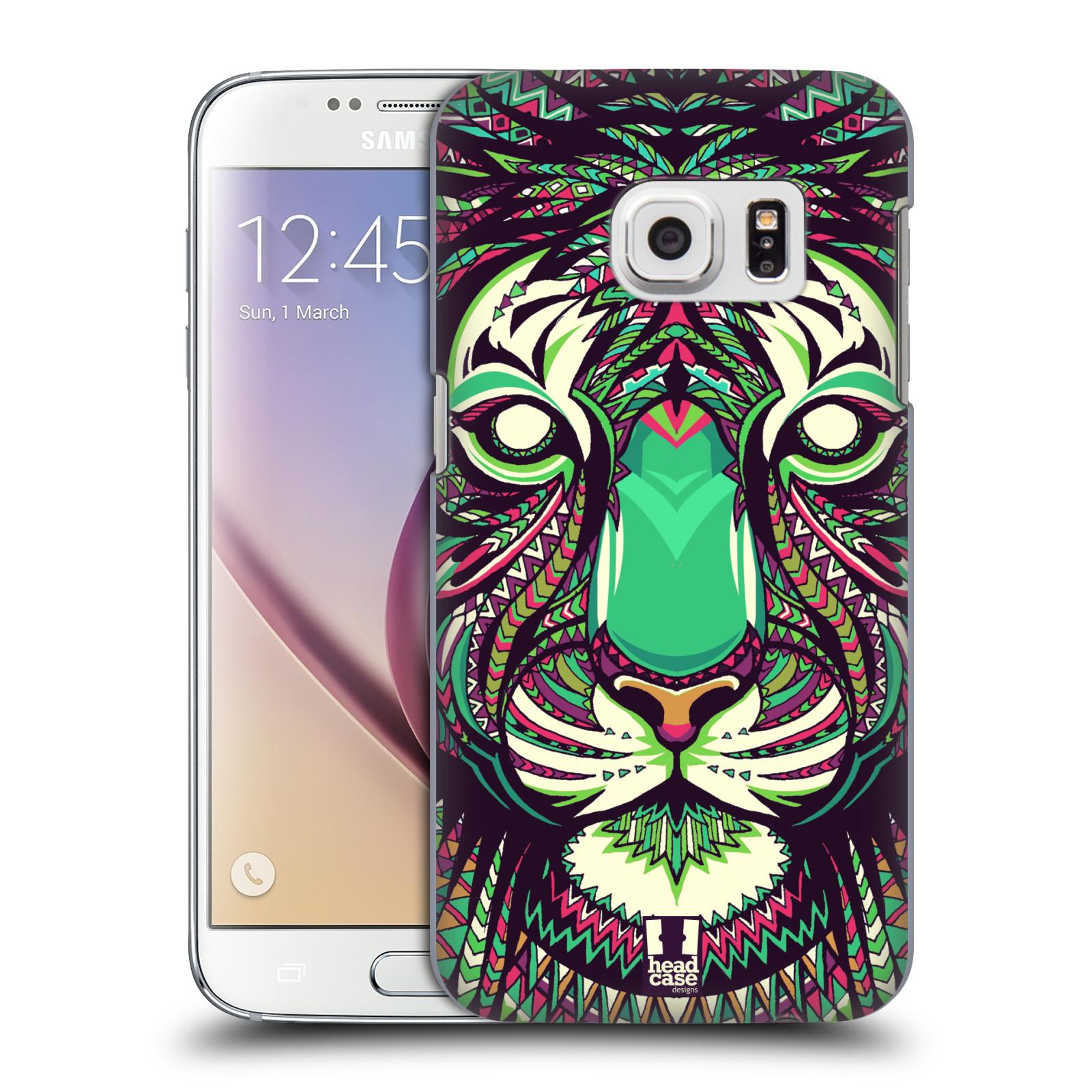 HEAD CASE plastový obal na mobil SAMSUNG GALAXY S7 vzor Aztécký motiv zvíře 2 tygr