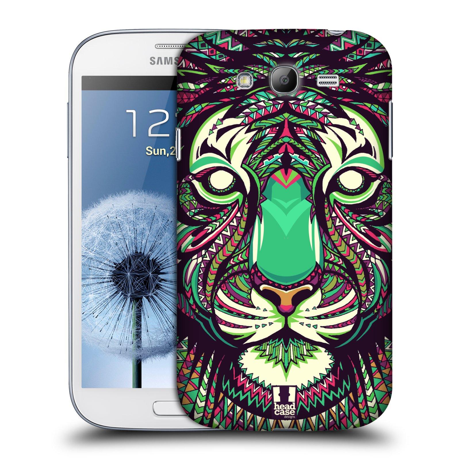 HEAD CASE plastový obal na mobil SAMSUNG GALAXY Grand i9080 vzor Aztécký motiv zvíře 2 tygr