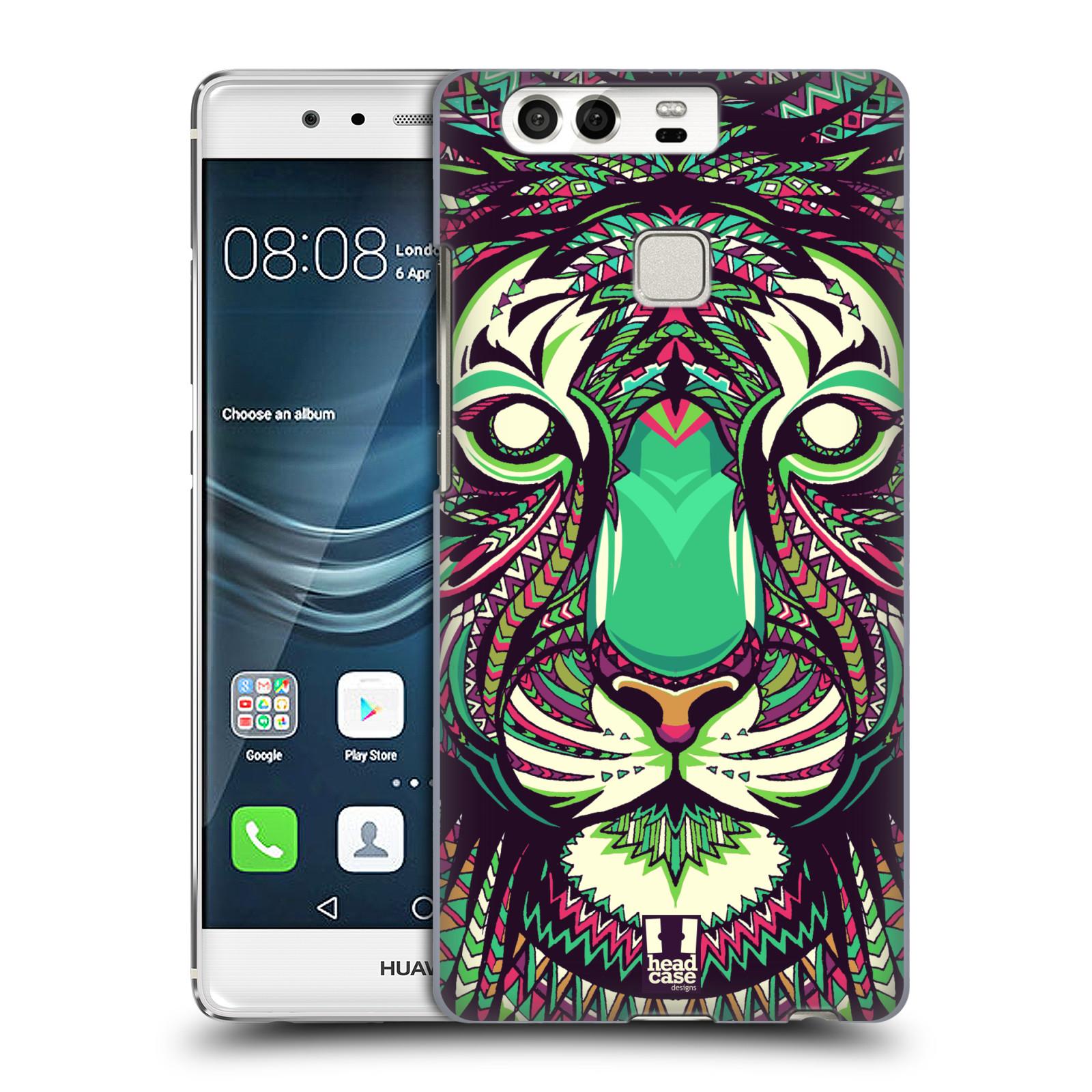 HEAD CASE plastový obal na mobil Huawei P9 / P9 DUAL SIM vzor Aztécký motiv zvíře 2 tygr