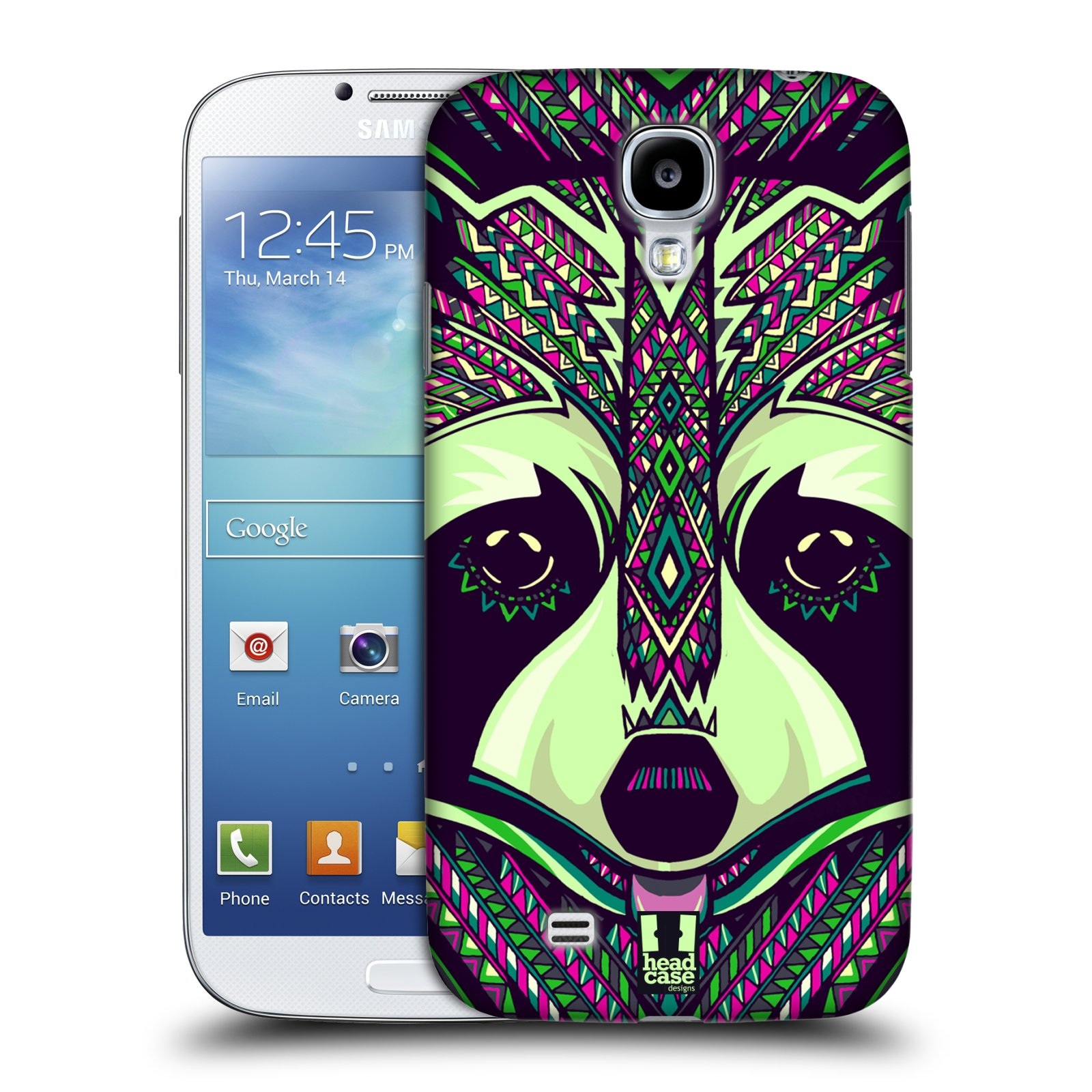 HEAD CASE DESIGNS AZTEC ANIMAL FACES SERIES 5 CASE FOR SAMSUNG GALAXY S4 I9500