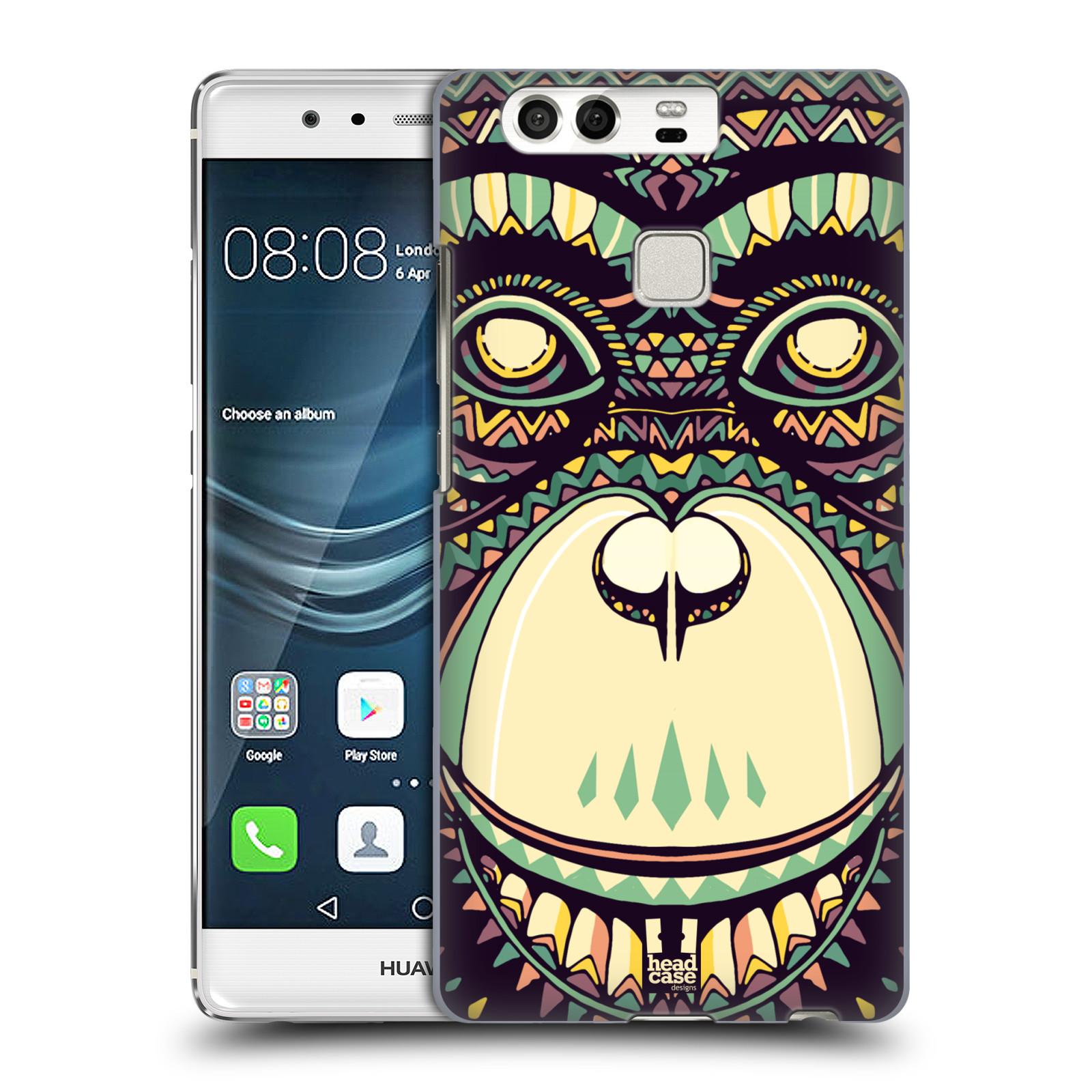 HEAD CASE plastový obal na mobil Huawei P9 / P9 DUAL SIM vzor Aztécký motiv zvíře 3 šimpanz