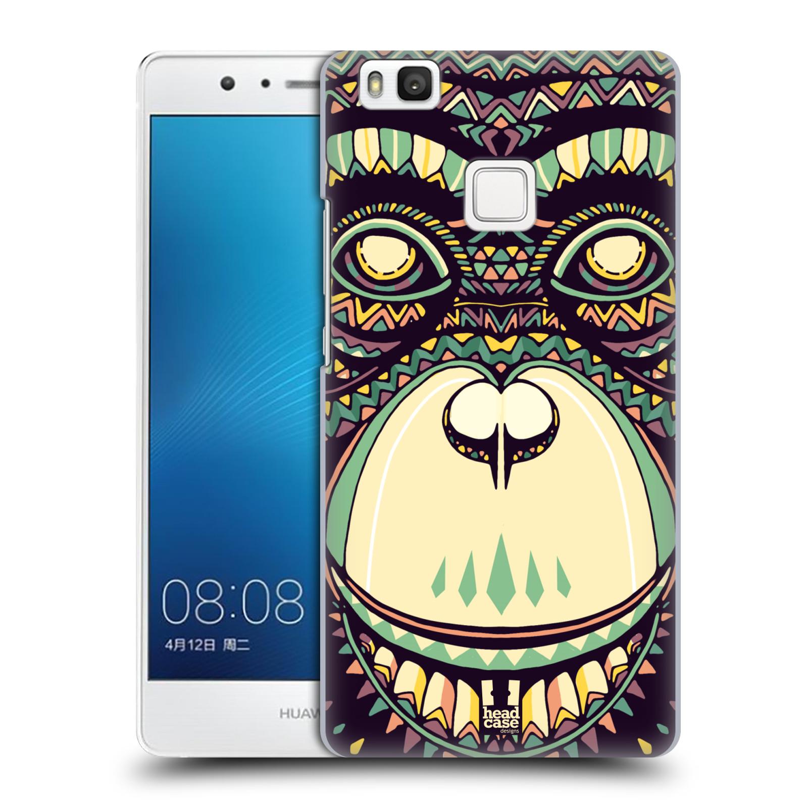 HEAD CASE plastový obal na mobil Huawei P9 LITE / P9 LITE DUAL SIM vzor Aztécký motiv zvíře 3 šimpanz