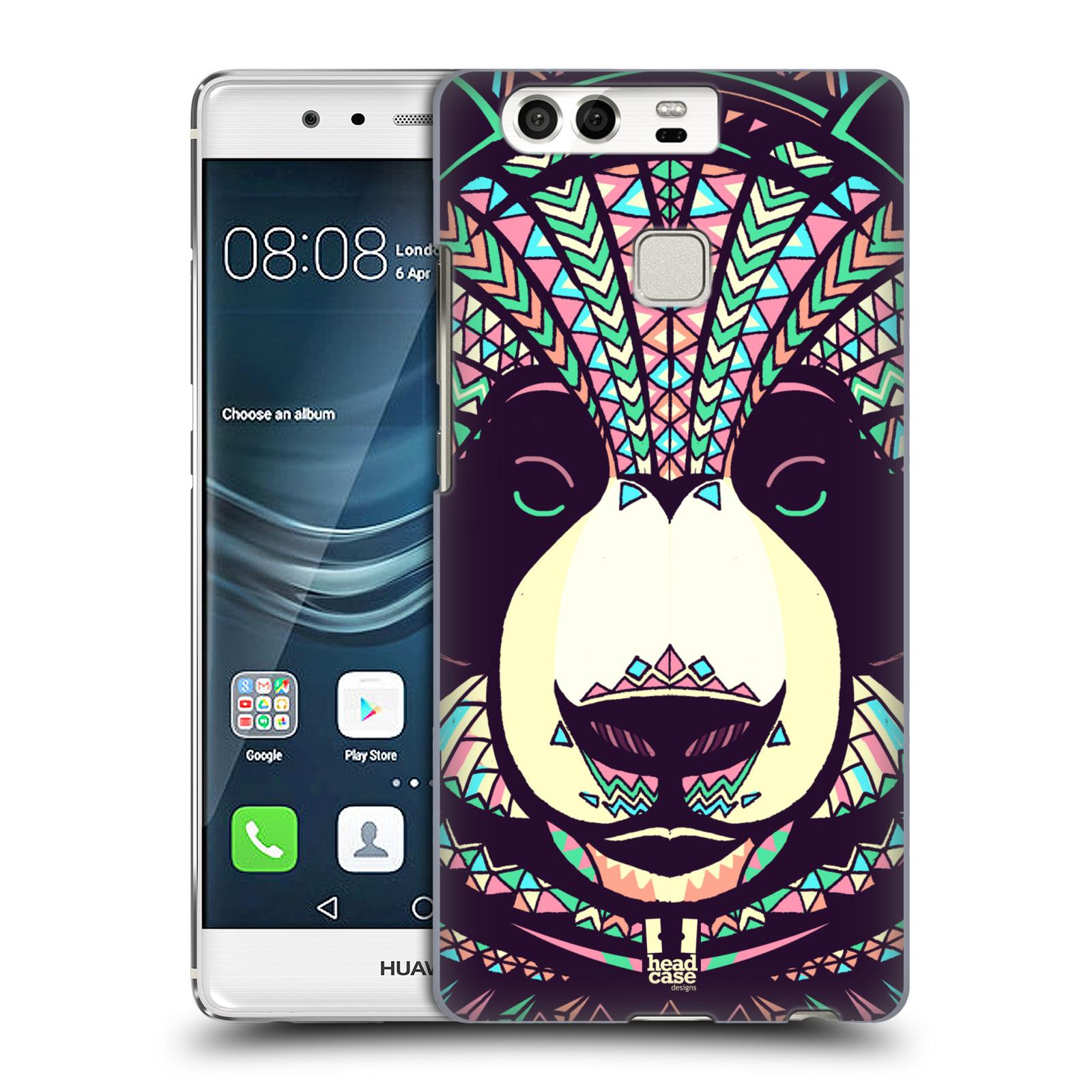 HEAD CASE plastový obal na mobil Huawei P9 / P9 DUAL SIM vzor Aztécký motiv zvíře 3 panda