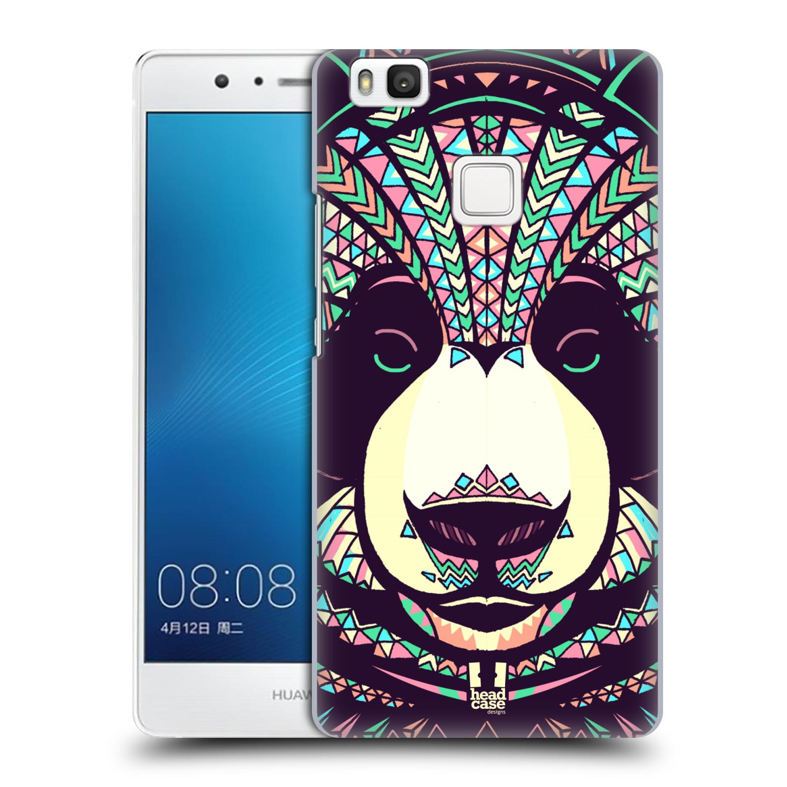 HEAD CASE plastový obal na mobil Huawei P9 LITE / P9 LITE DUAL SIM vzor Aztécký motiv zvíře 3 panda
