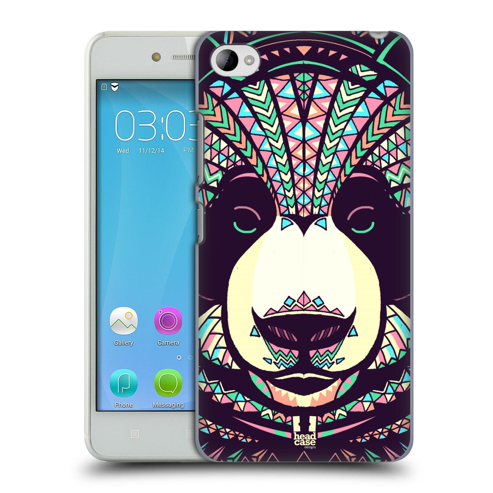 HEAD CASE pevný plastový obal na mobil LENOVO S90 vzor Aztécký motiv zvíře 3 panda