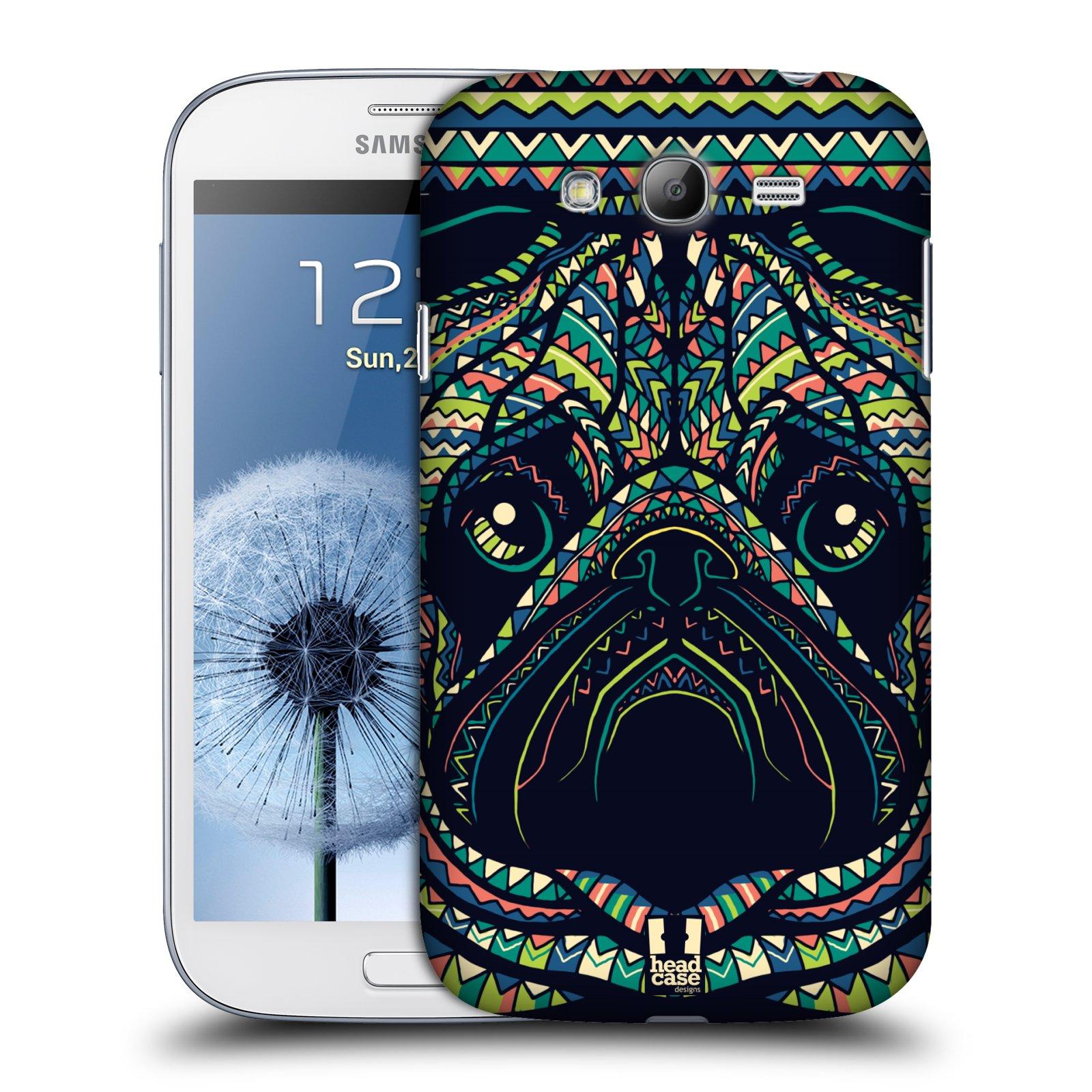 HEAD CASE plastový obal na mobil SAMSUNG GALAXY Grand i9080 vzor Aztécký motiv zvíře 3 mopsík