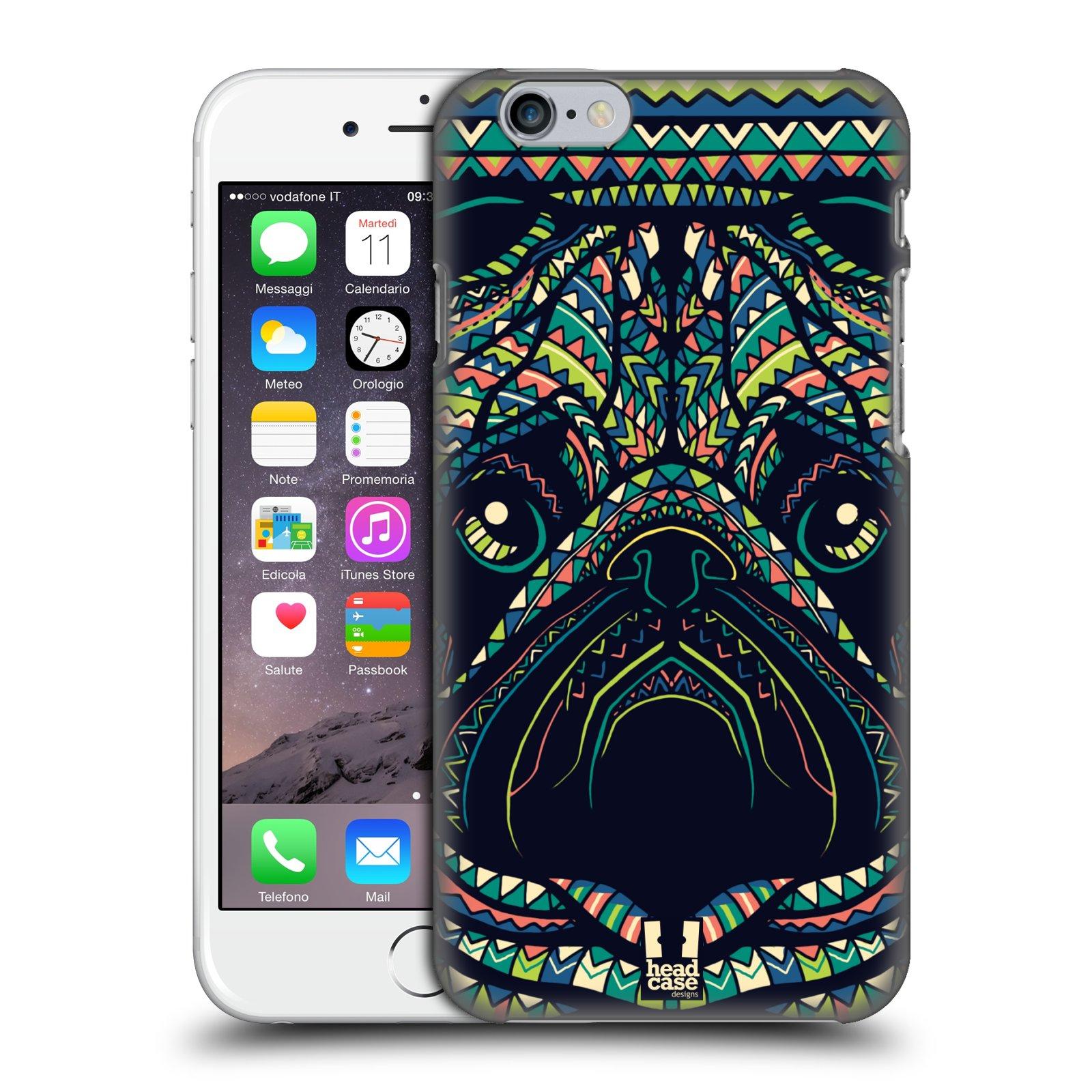 Plastové pouzdro pro mobil Apple Iphone 6/6S vzor Aztécký motiv zvíře 3 mopsík