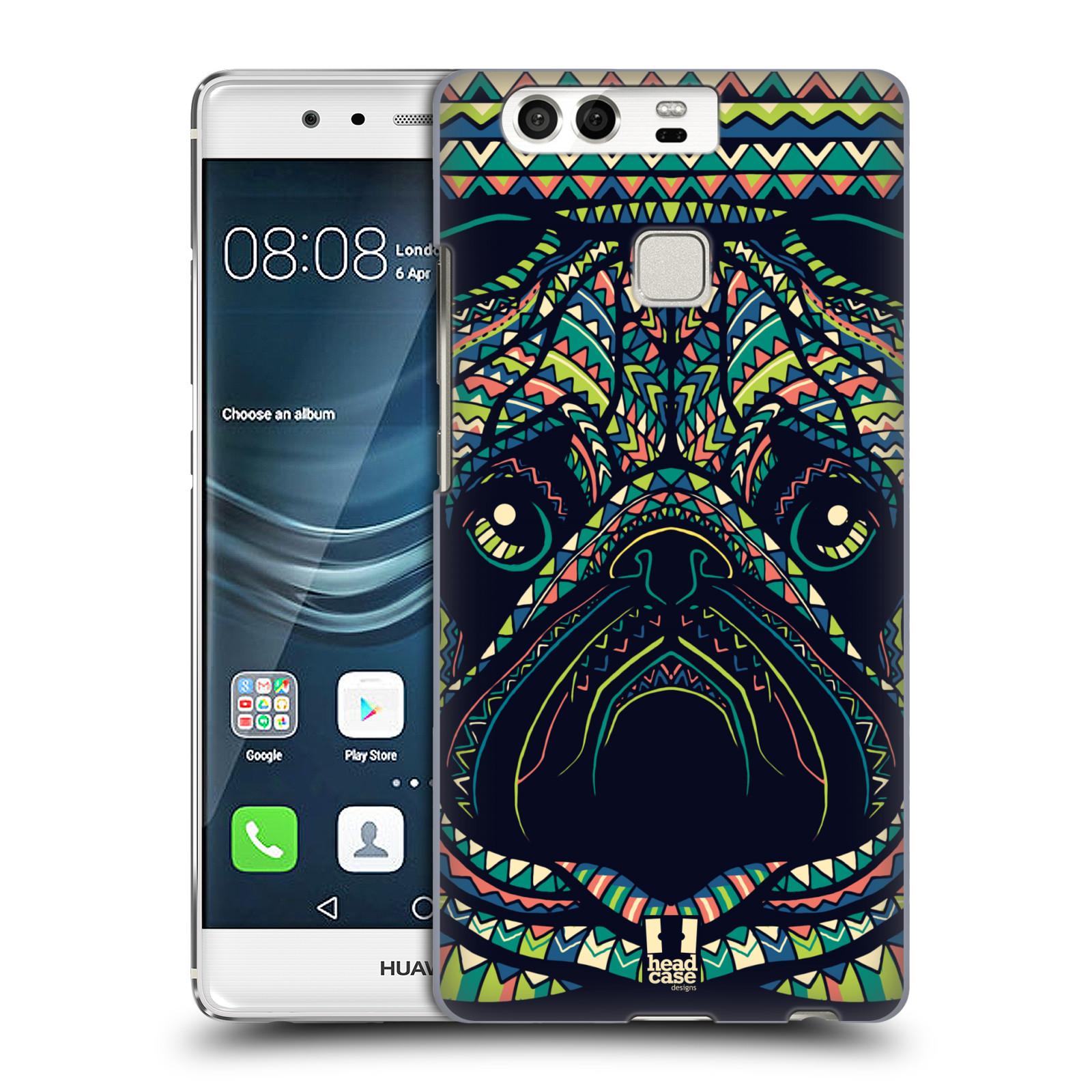 HEAD CASE plastový obal na mobil Huawei P9 / P9 DUAL SIM vzor Aztécký motiv zvíře 3 mopsík