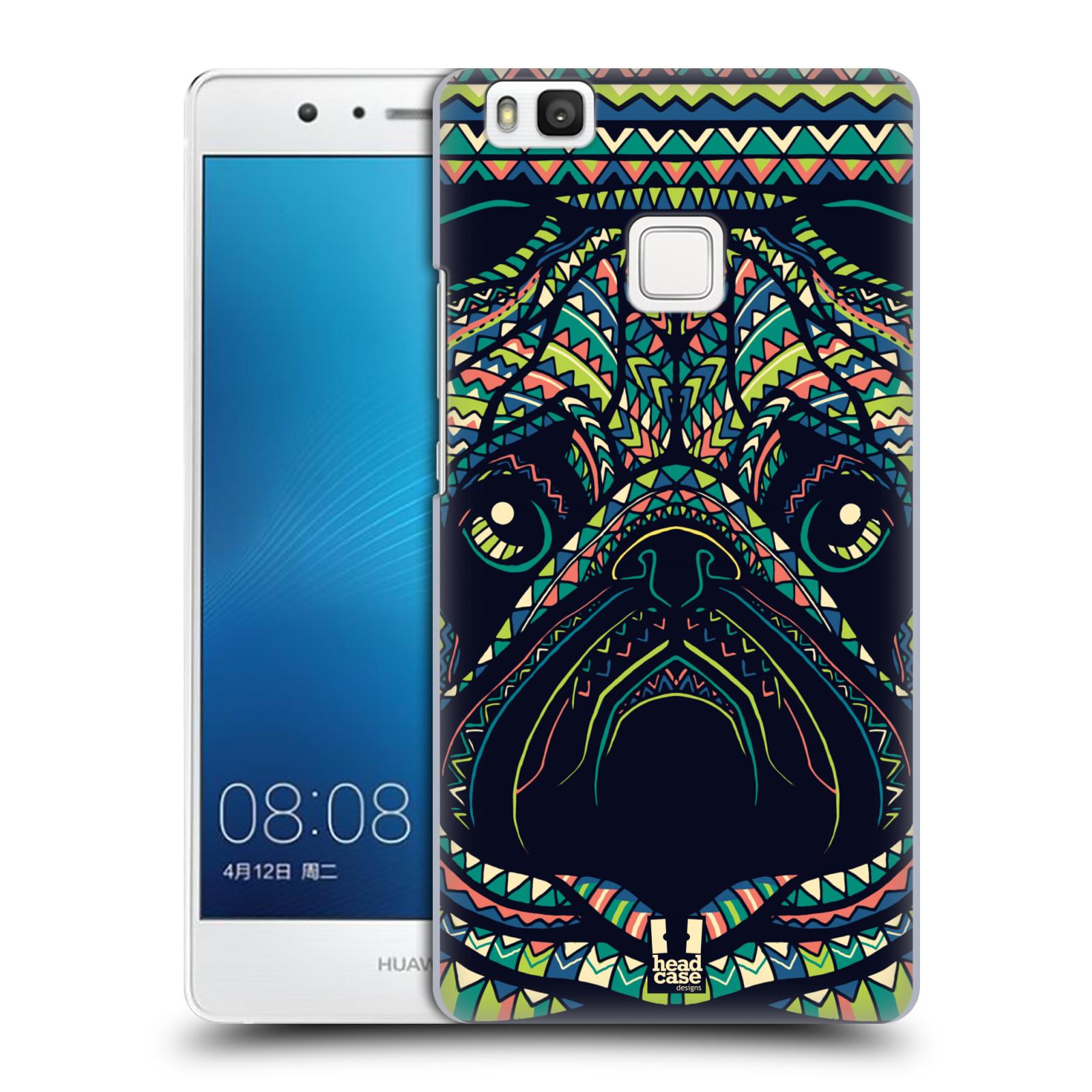HEAD CASE plastový obal na mobil Huawei P9 LITE / P9 LITE DUAL SIM vzor Aztécký motiv zvíře 3 mopsík