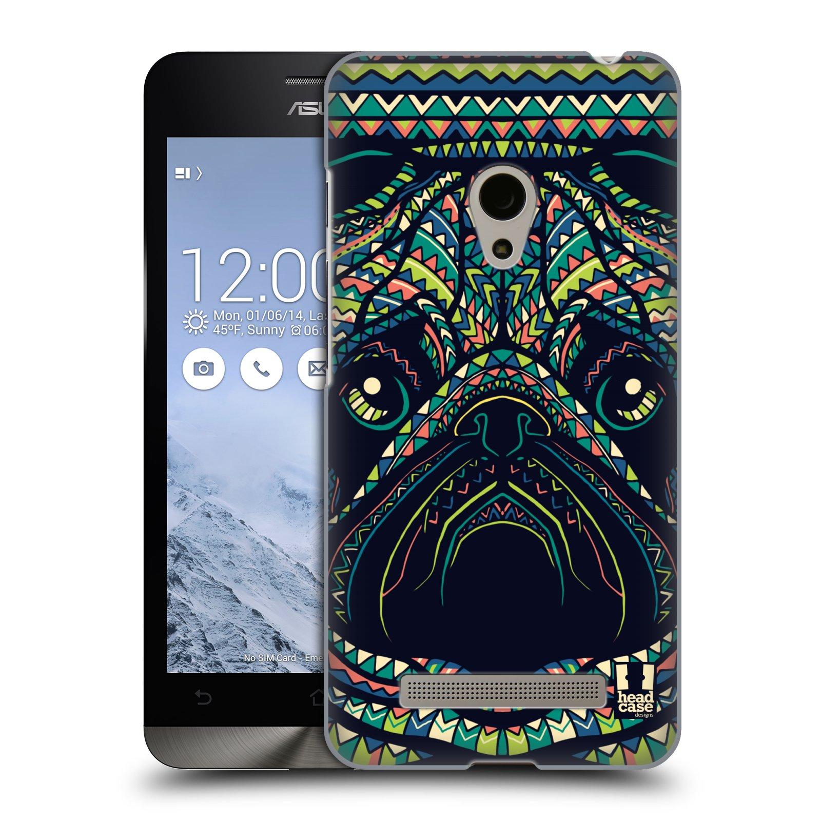 HEAD CASE plastový obal na mobil Asus Zenfone 5 vzor Aztécký motiv zvíře 3 mopsík