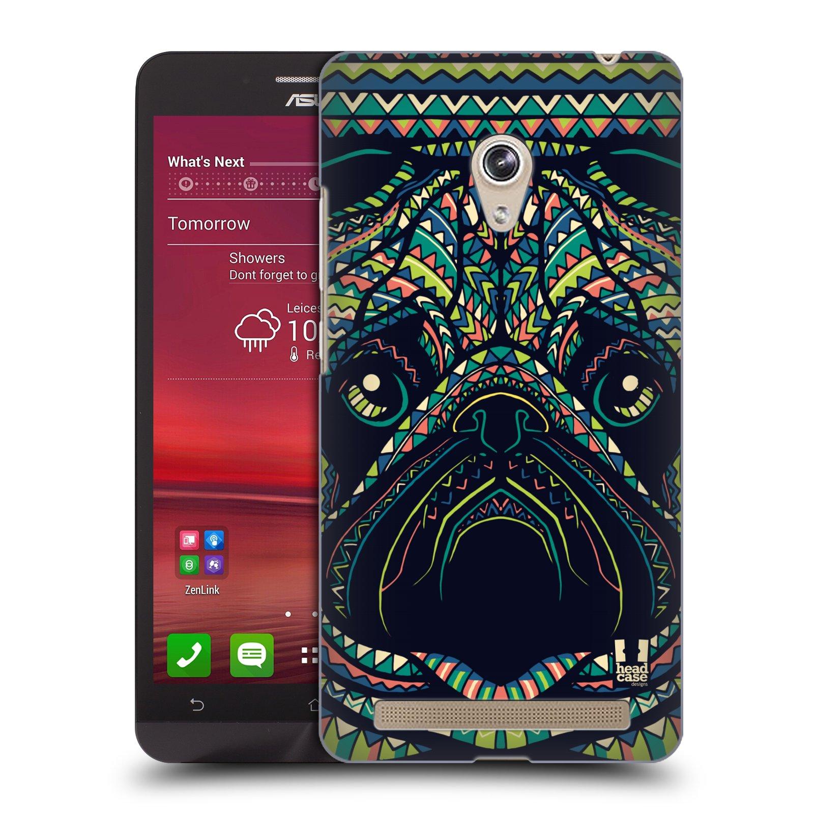 HEAD CASE plastový obal na mobil Asus Zenfone 6 vzor Aztécký motiv zvíře 3 mopsík