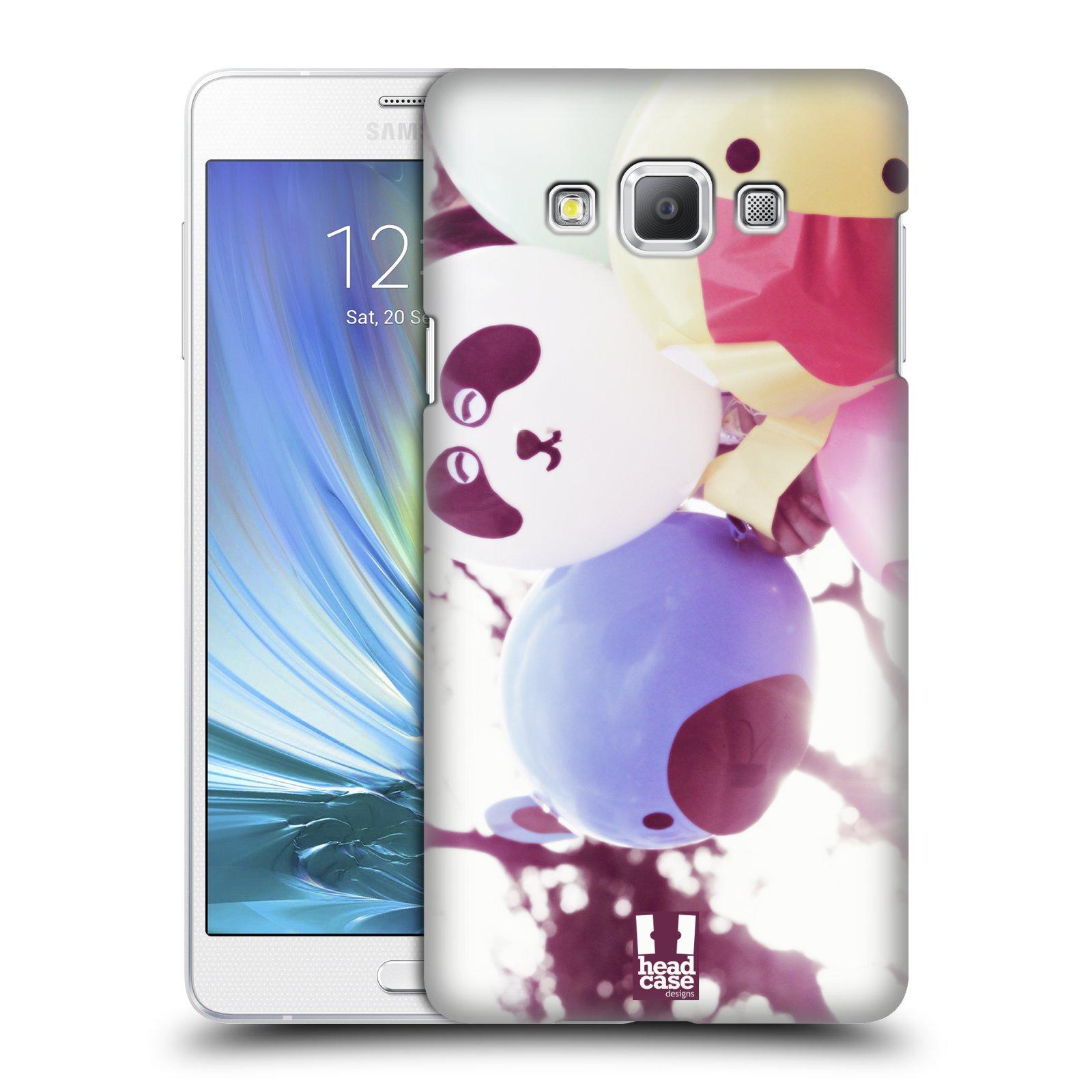HEAD CASE plastový obal na mobil SAMSUNG GALAXY A7 vzor Balónková zvířátka foto sen