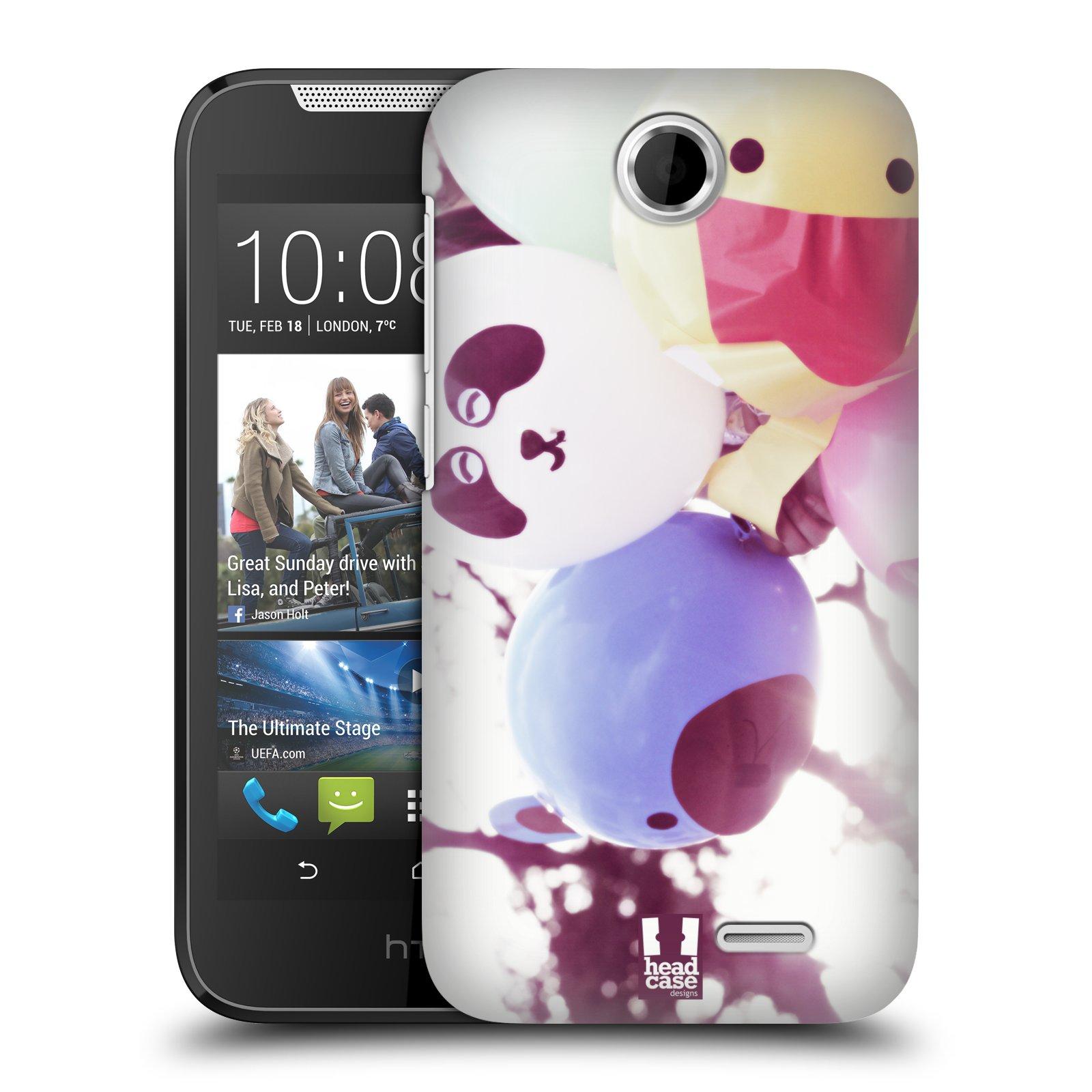 HEAD CASE plastový obal na mobil HTC Desire 310 vzor Balónková zvířátka foto sen