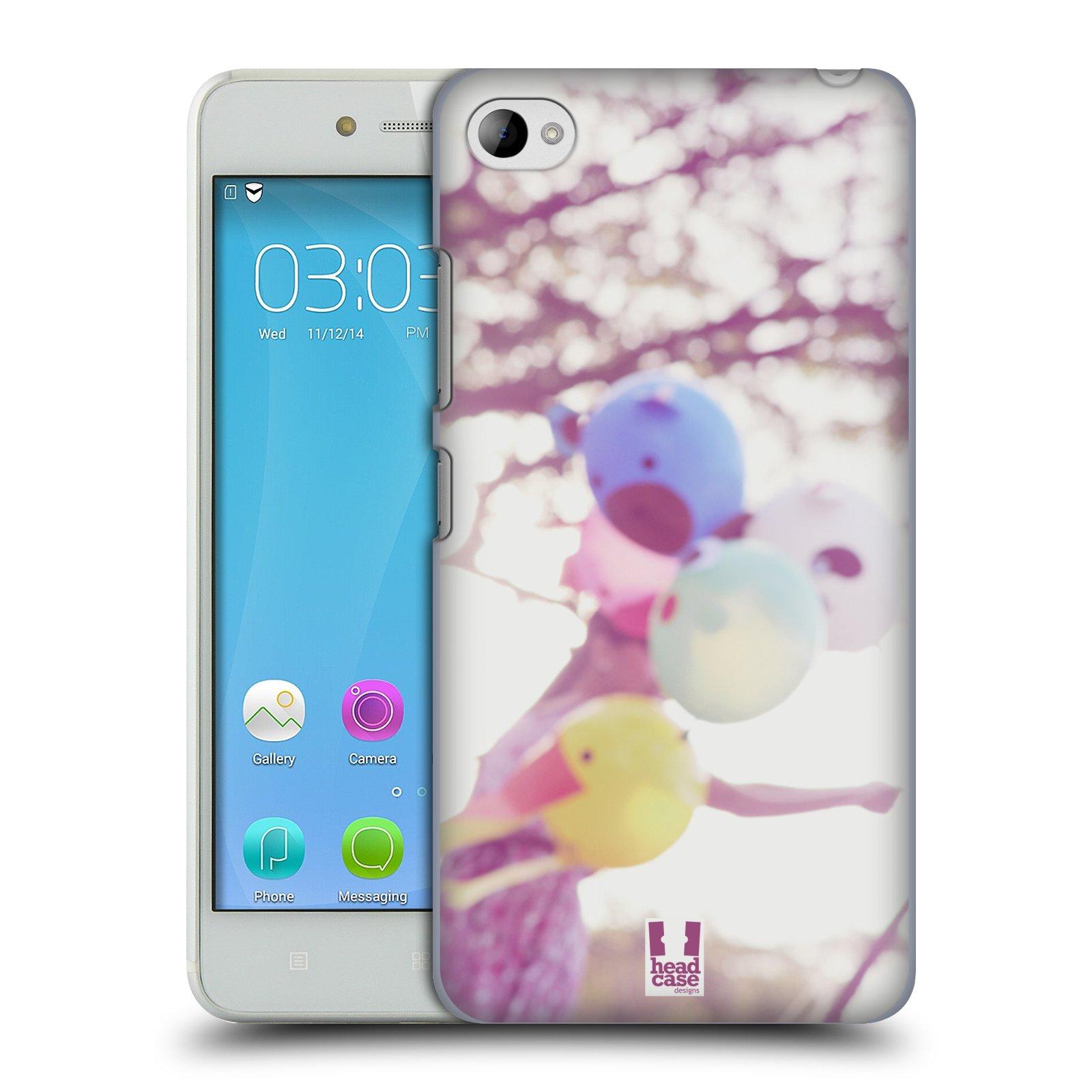 HEAD CASE pevný plastový obal na mobil LENOVO S90 vzor Balónková zvířátka foto nostalgie