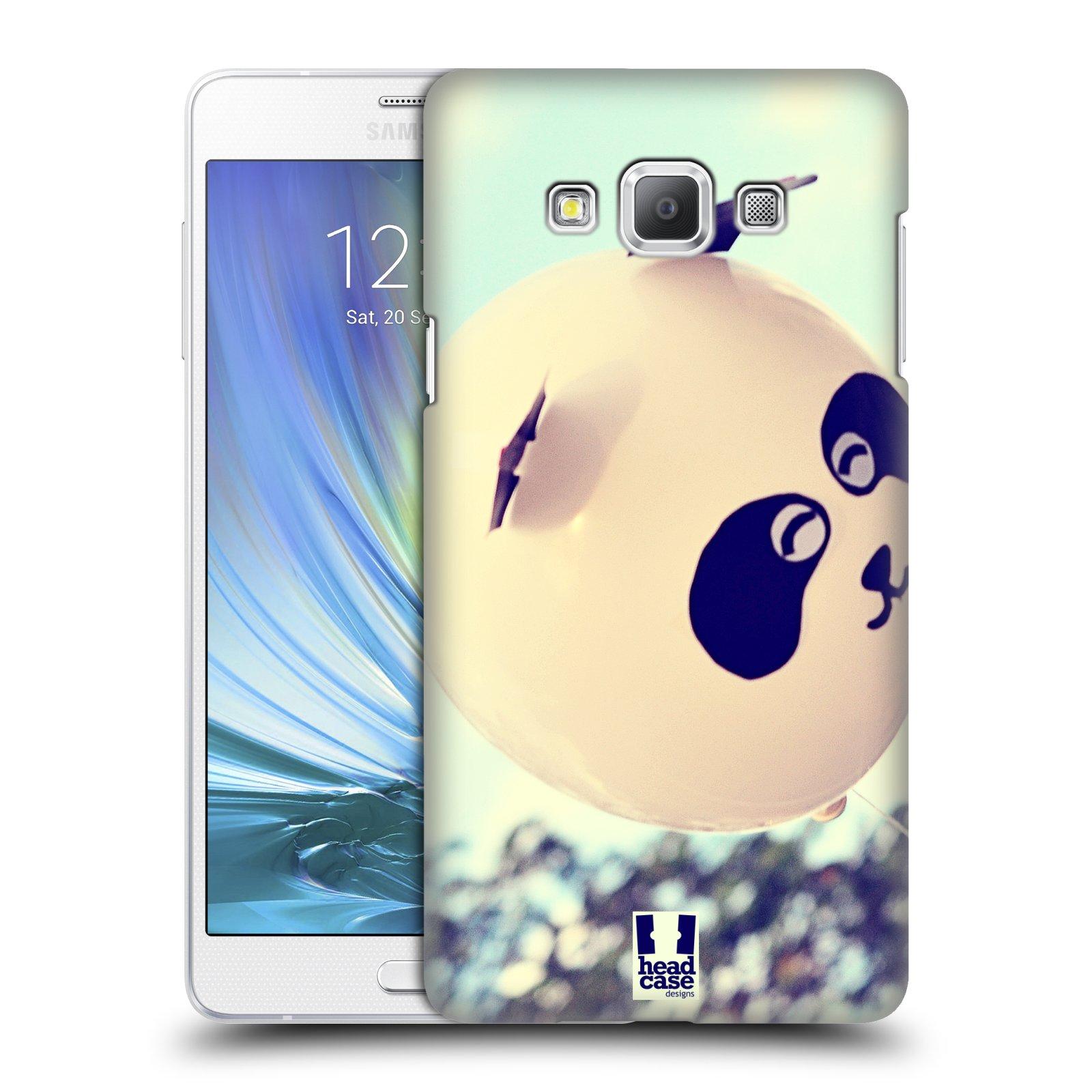 HEAD CASE plastový obal na mobil SAMSUNG GALAXY A7 vzor Balónková zvířátka foto panda