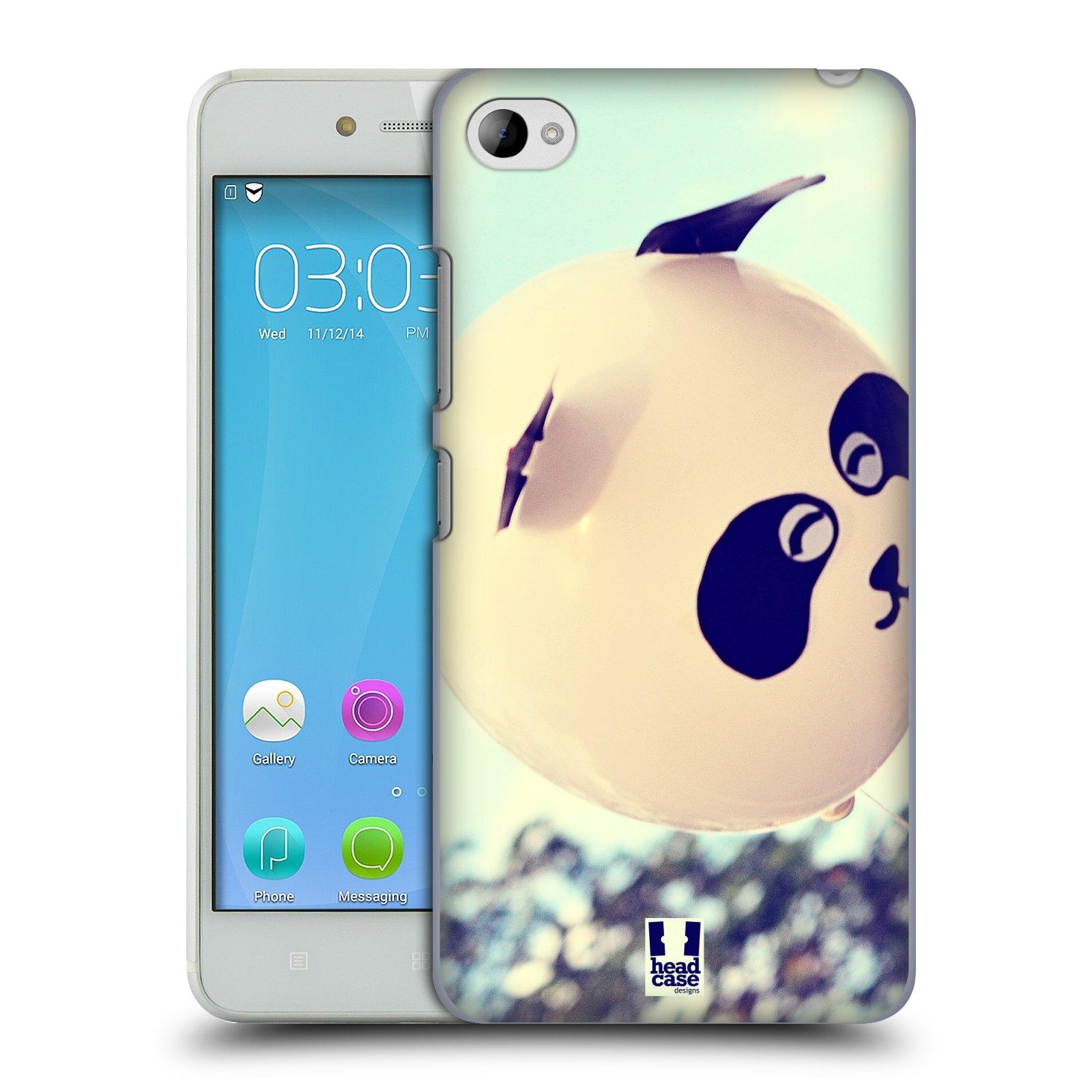 HEAD CASE pevný plastový obal na mobil LENOVO S90 vzor Balónková zvířátka foto panda