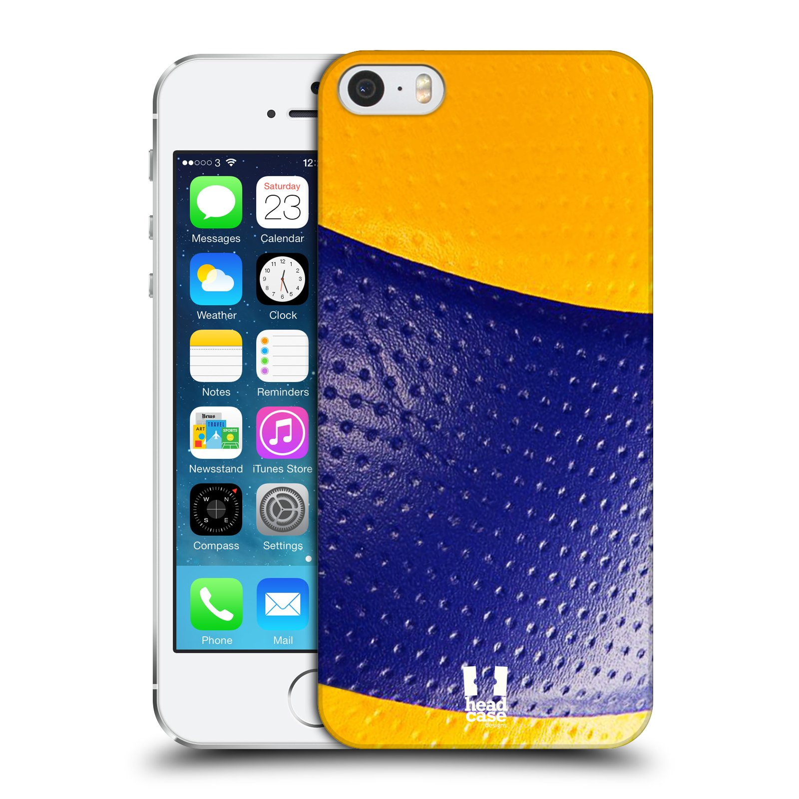 HEAD CASE DESIGNS BALL COLLECTION HARD BACK CASE FOR APPLE iPHONE 5S