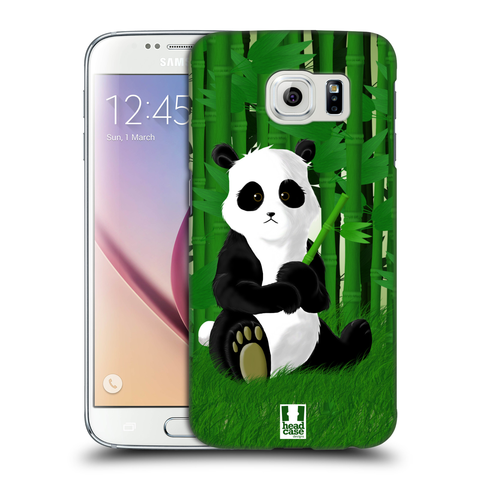 Head case designs baby panda hard back case for samsung for Cell phone cover design ideas