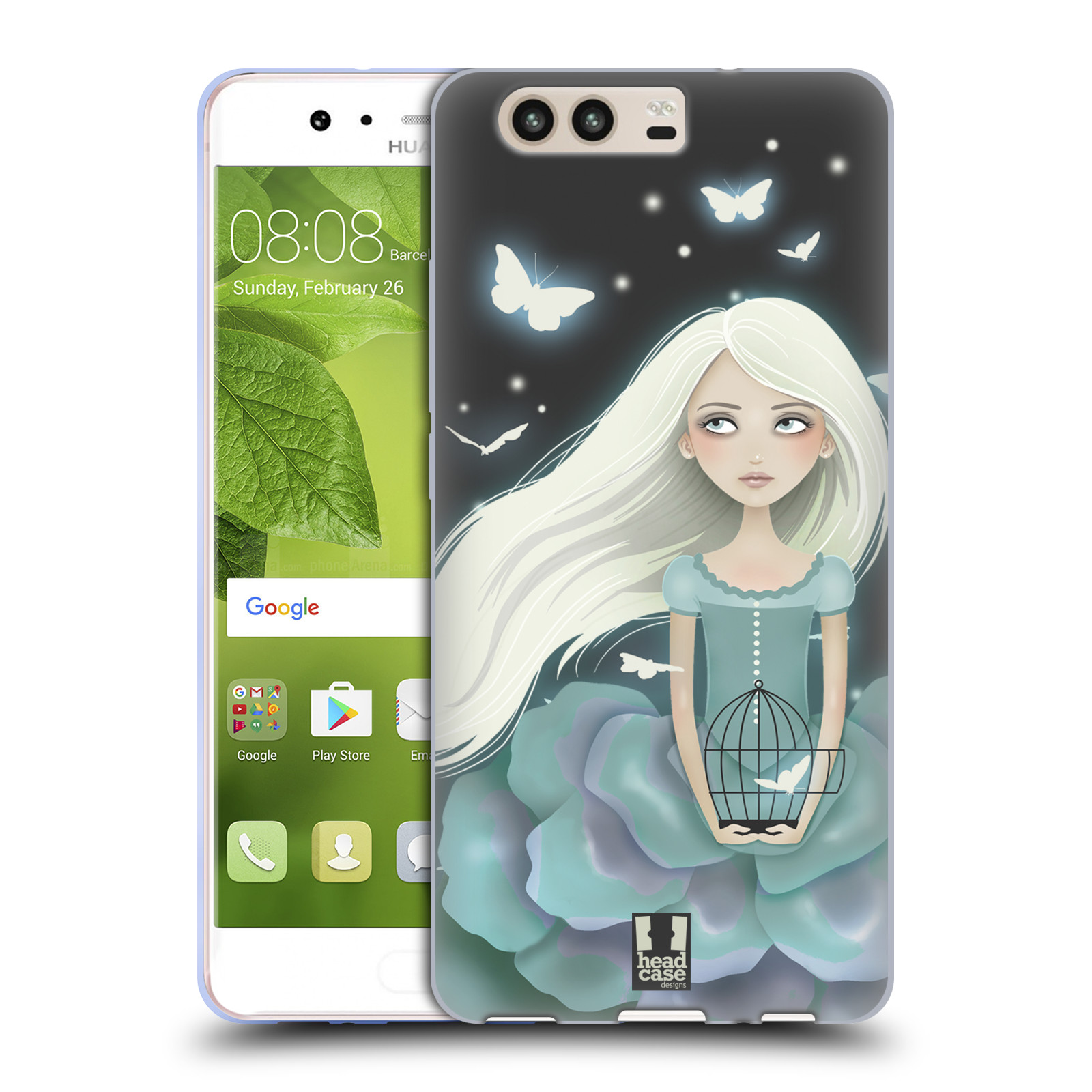 HEAD-CASE-DESIGNS-BELLE-MELANCOLIE-ETUI-COQUE-EN-GEL-MOLLE-POUR-HUAWEI-P10