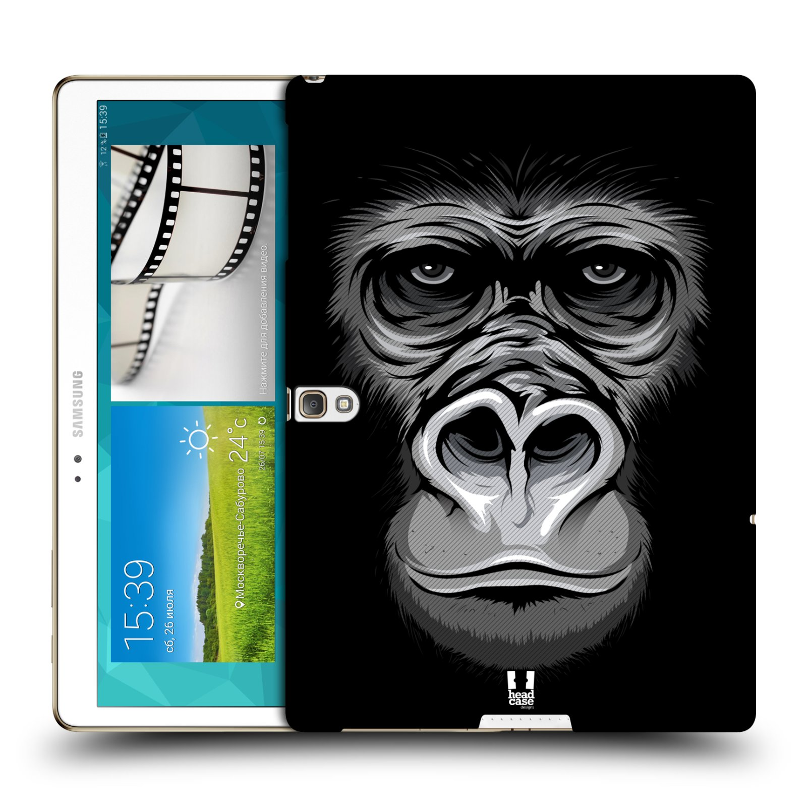 HEAD CASE DESIGNS FACE ILLUSTRATE 2 CASE FOR SAMSUNG GALAXY TAB S 10.5 WIFI T800