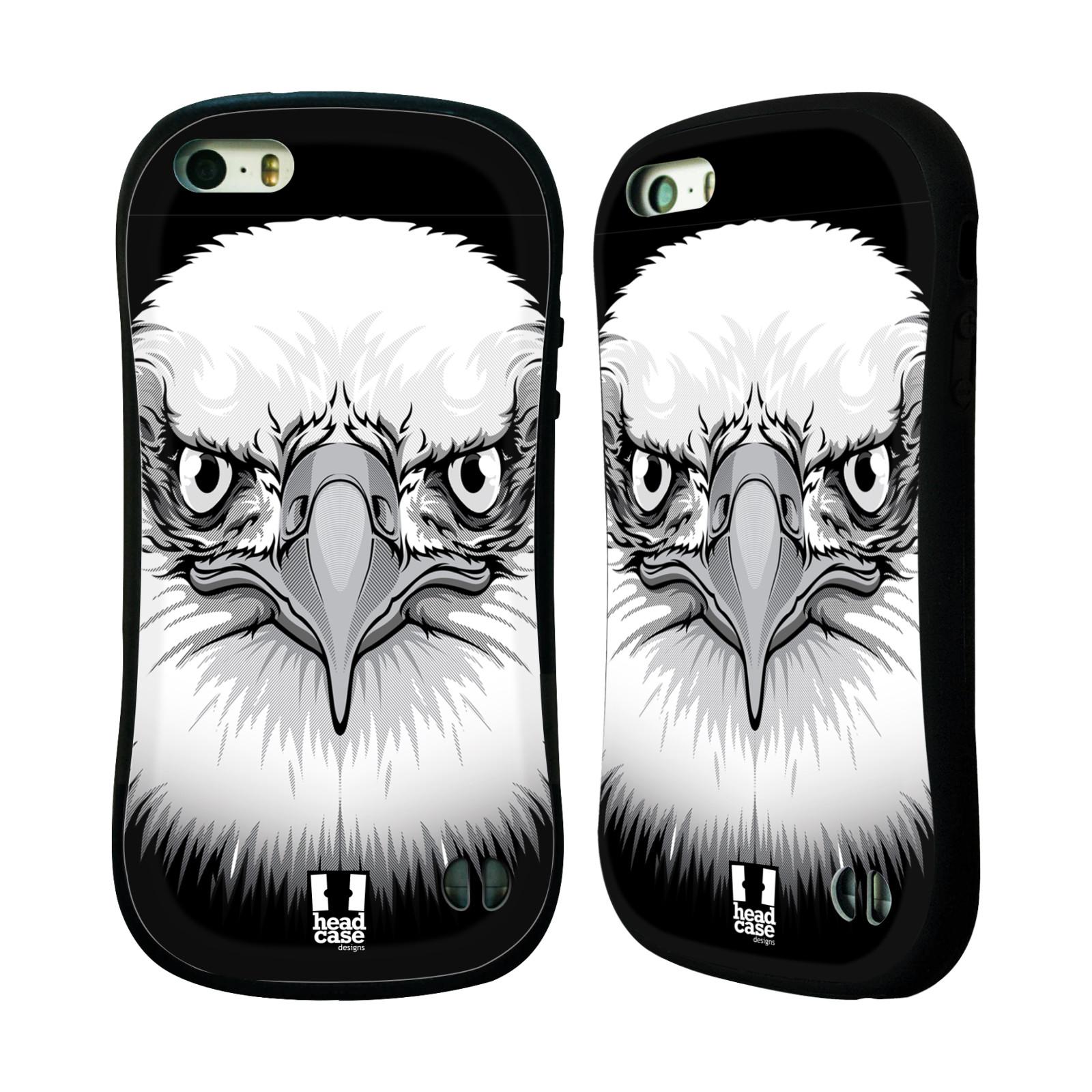 HEAD CASE silikon plast odolný obal na mobil Apple Iphone 5 5S vzor Zvíře  empty cd73a9800e1