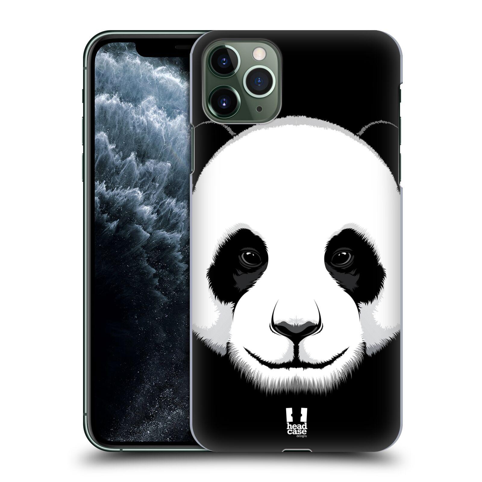 Pouzdro na mobil Apple Iphone 11 PRO MAX - HEAD CASE - vzor Zvíře kreslená tvář panda